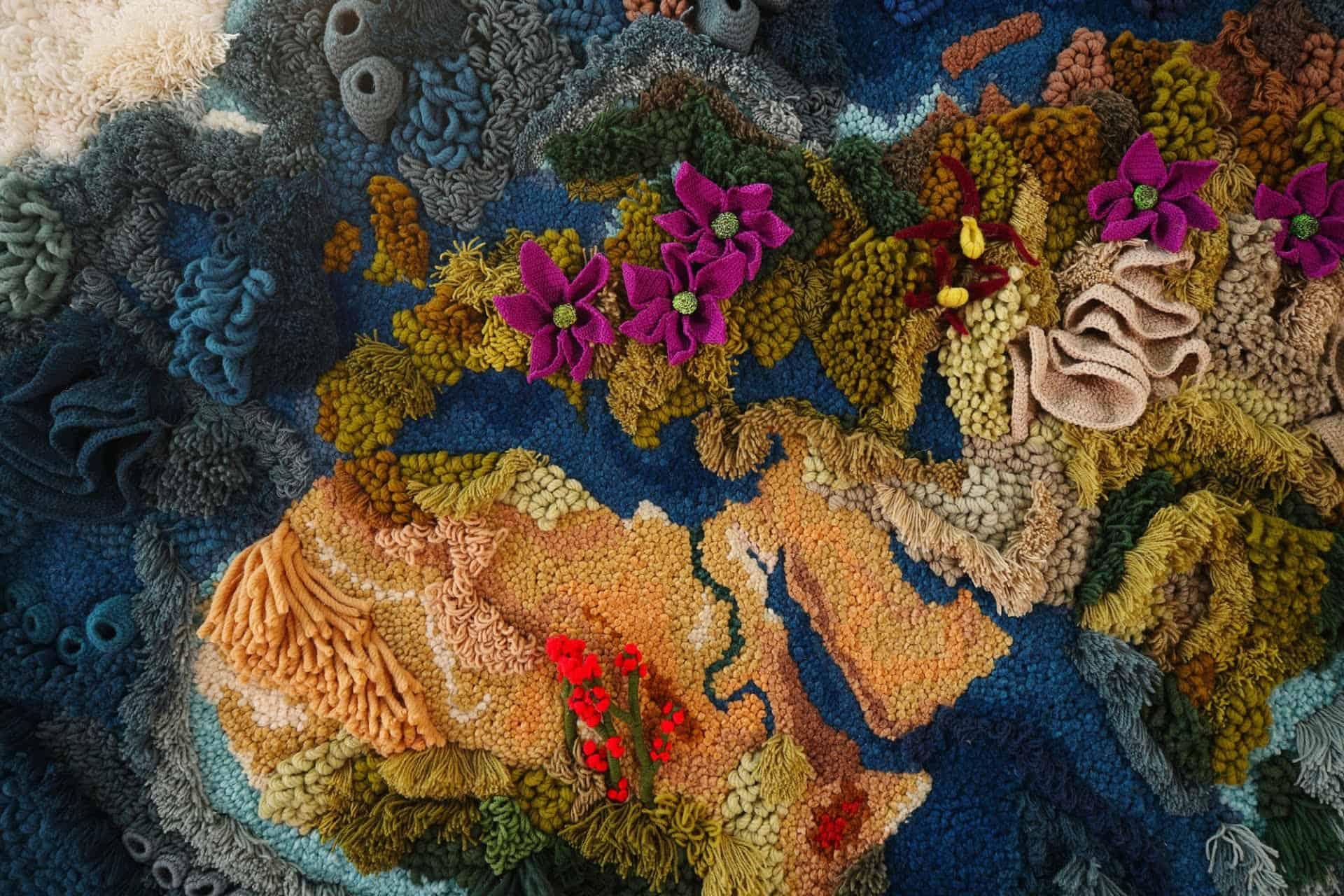 Tapijt van textielkunstenaar Vanessa Barragão