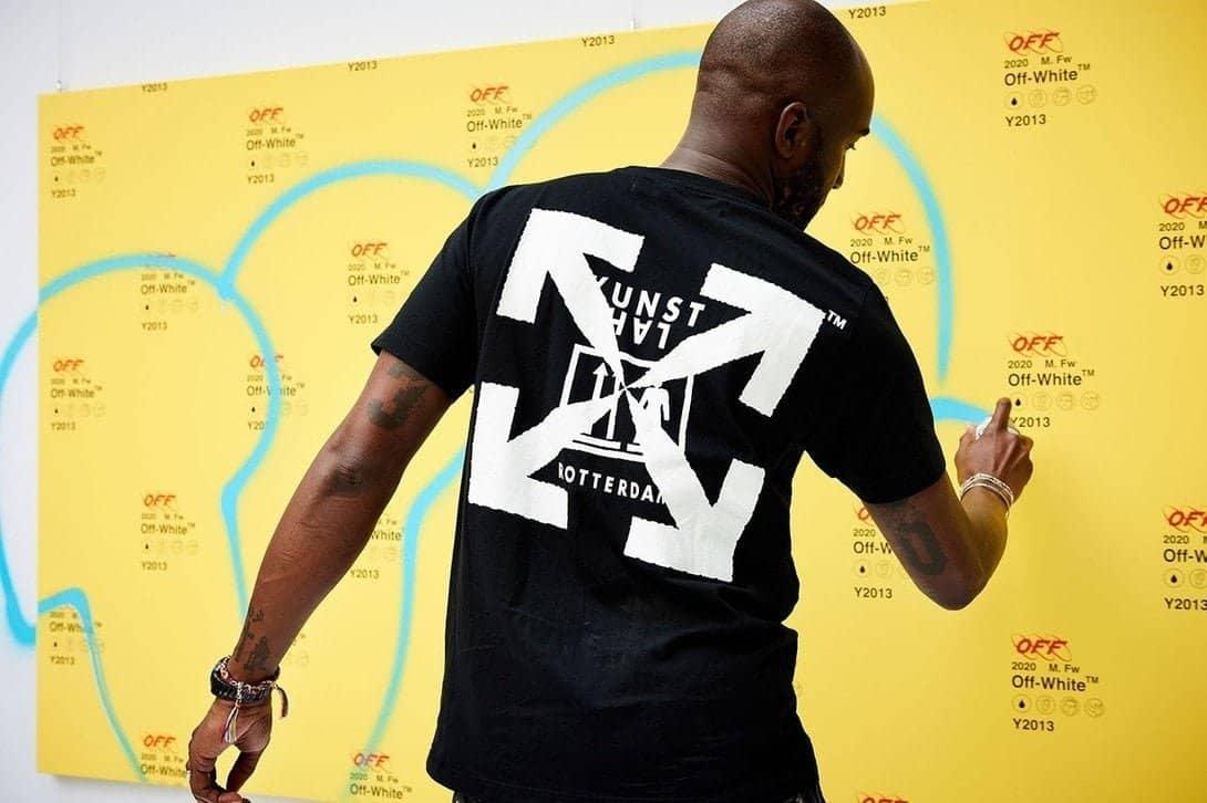 Virgil Abloh ontwerpt shirt voor Kunsthal