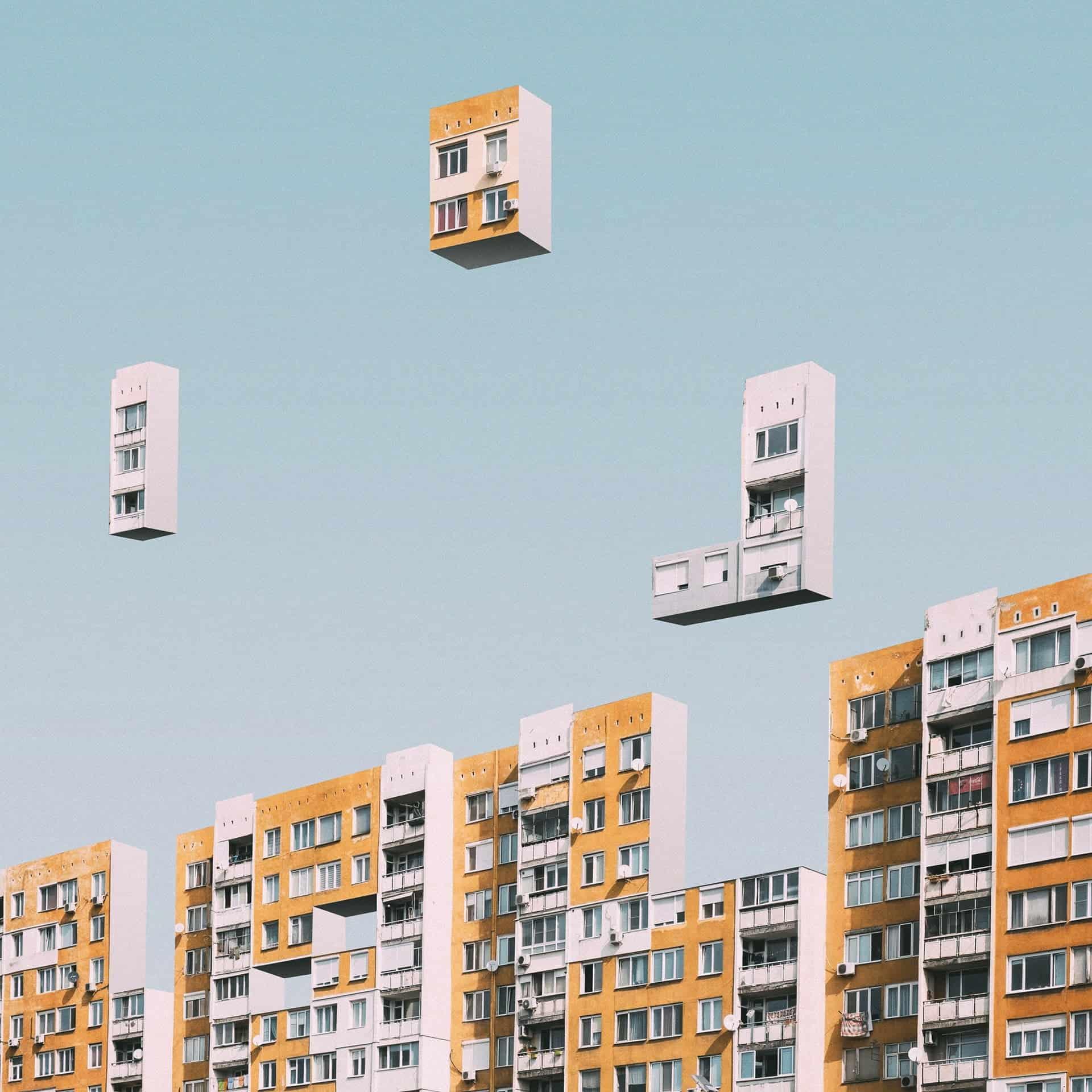 Tetris in de stad
