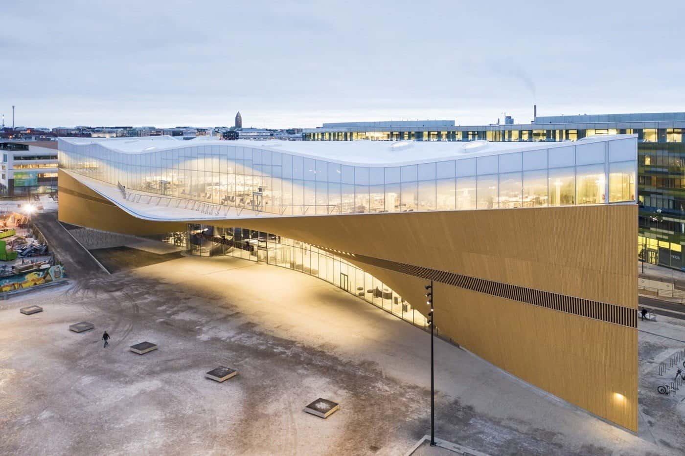 Bibliotheek in Helsinki