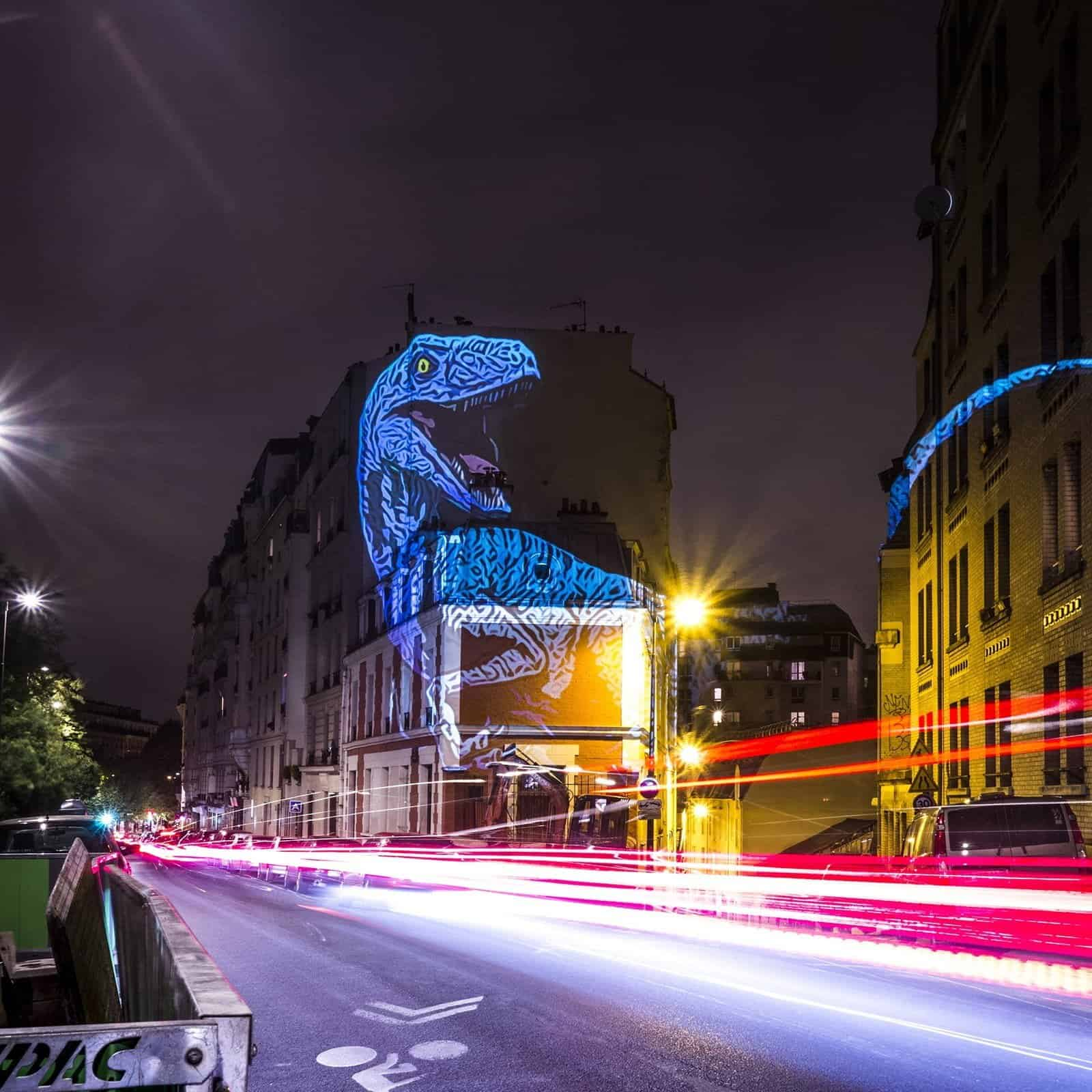Dinosaurus in Parijs