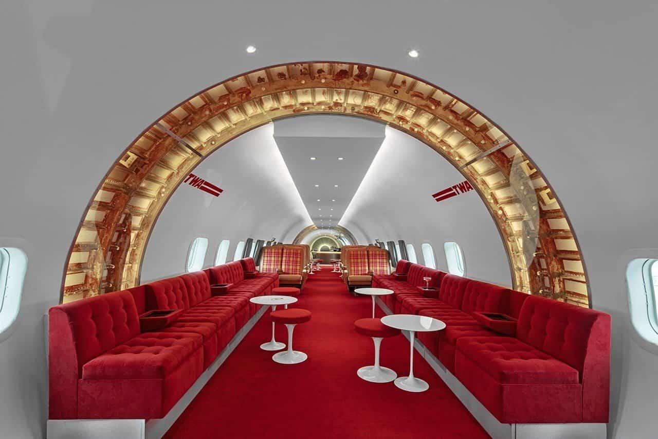 Cocktailbar op JFK Airport