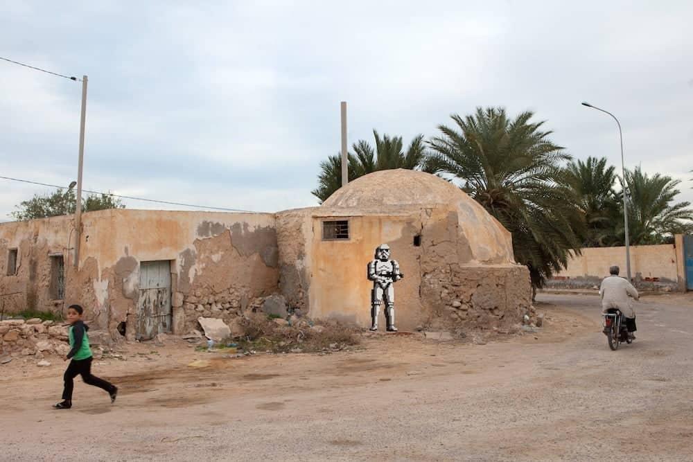 Invader in Tunesië