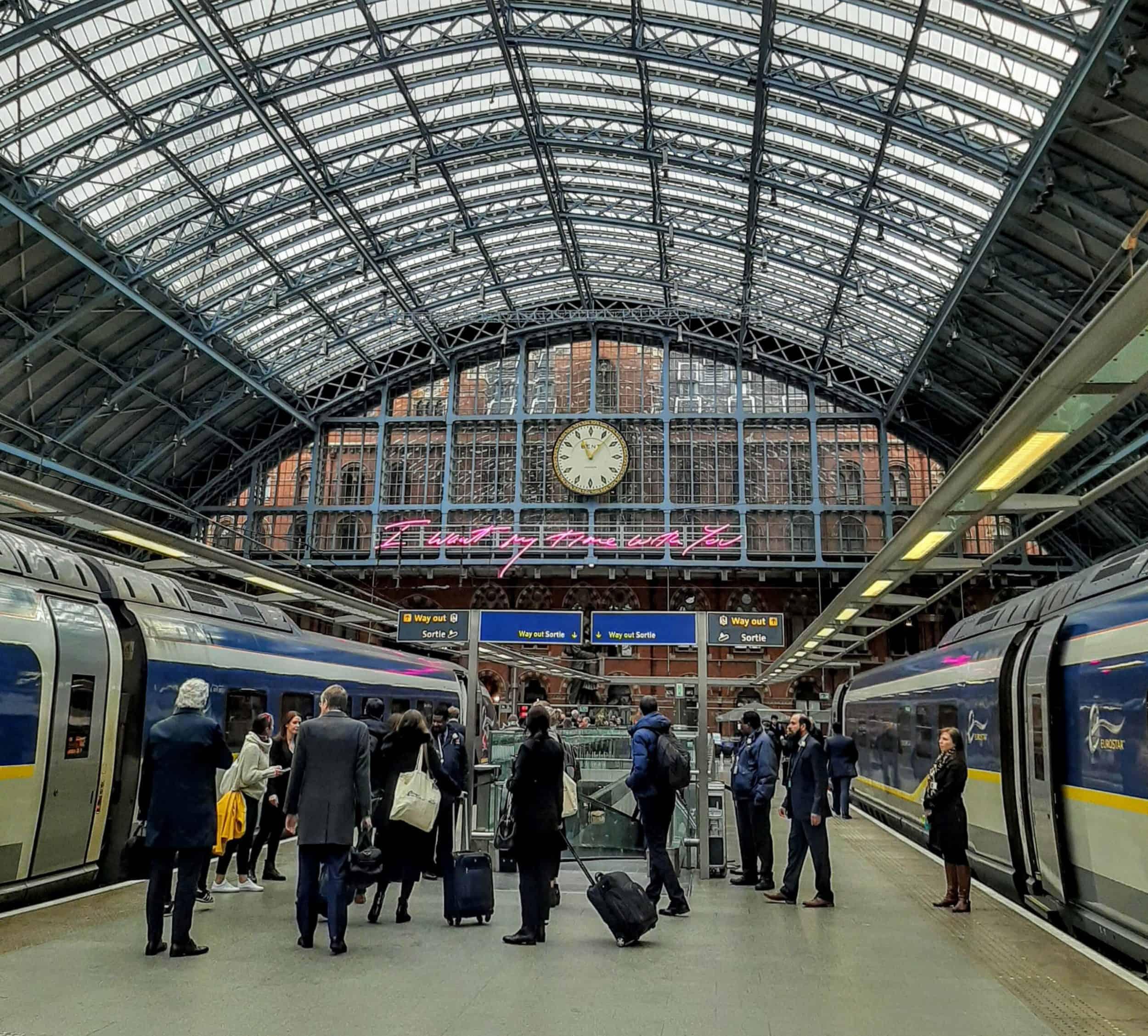 Treinreis Londen