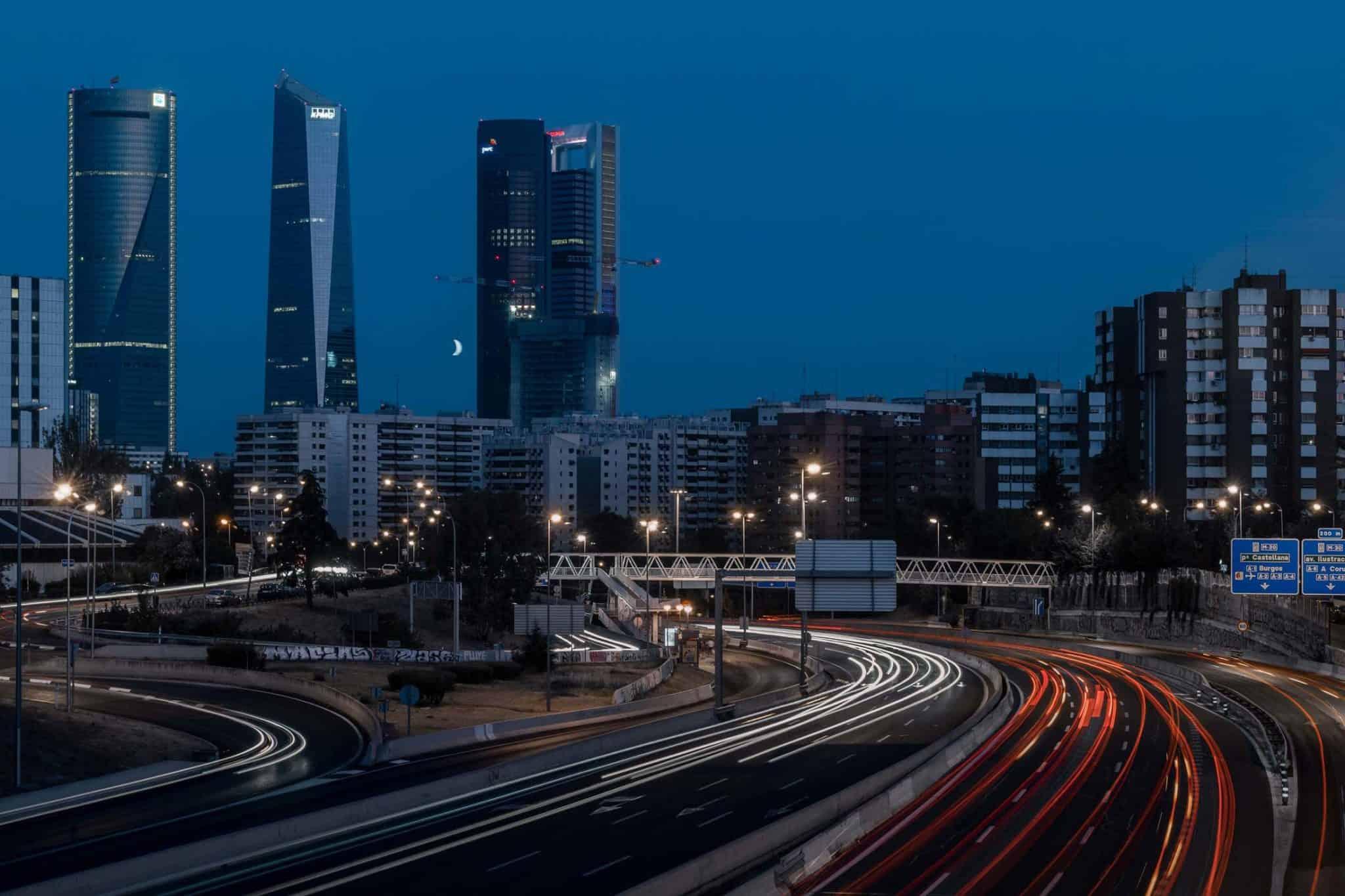 Maan boven Madrid