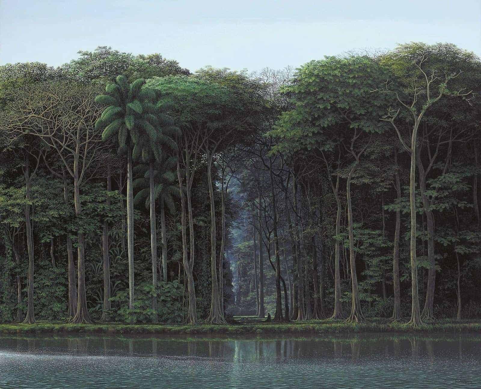 rustgevend landschap
