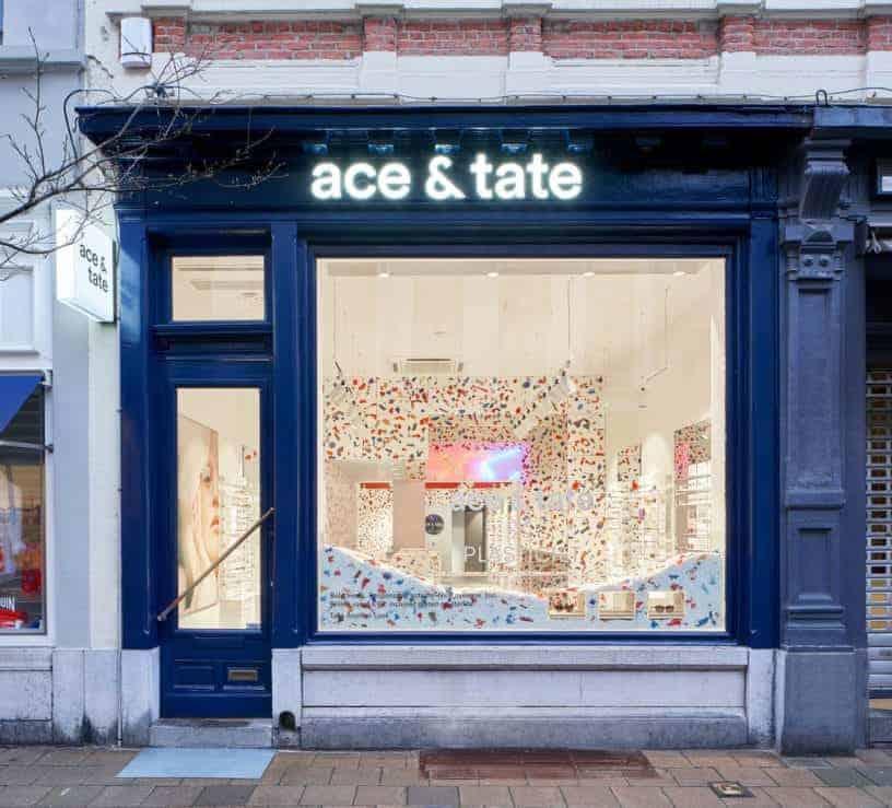 Winkel van Ace & Tate in Antwerpen