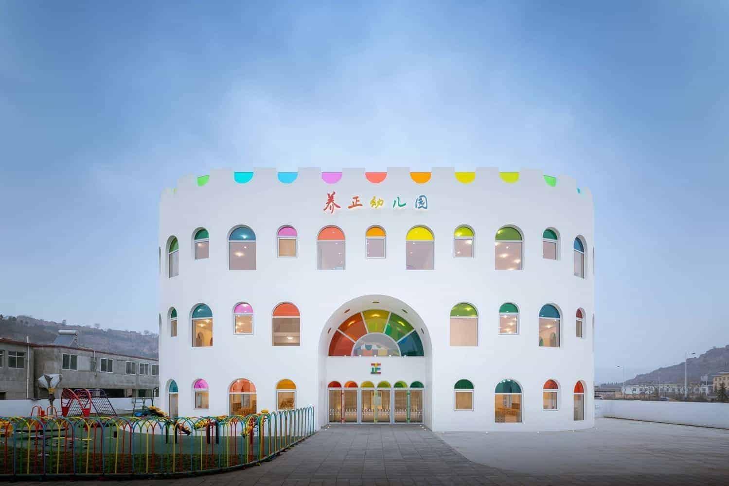 Kleuterschool van SAKO Architects