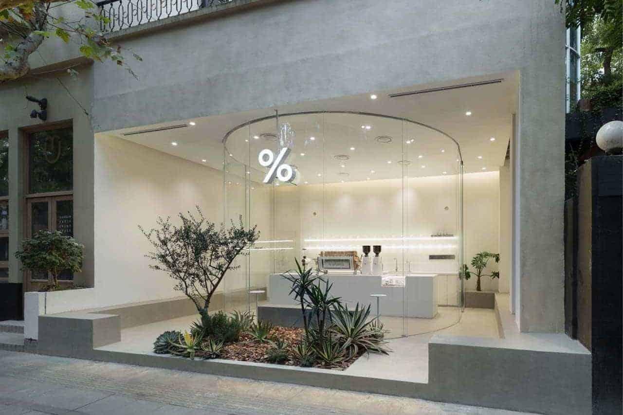 % Arabica opent prachtig filiaal in Shanghai
