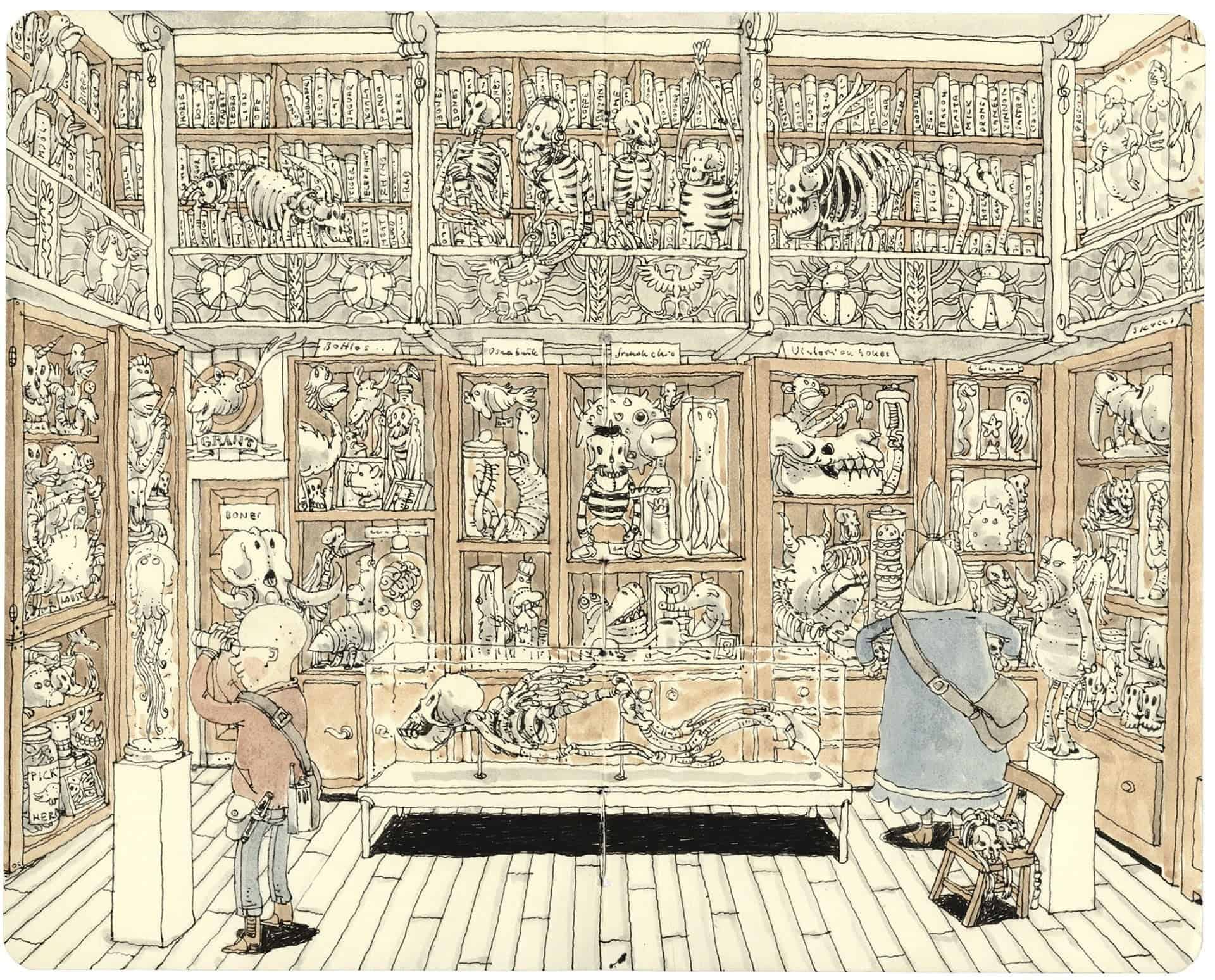 illustratie van Mattias Adolfsson