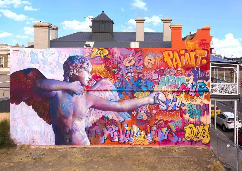 Pichi & Avo maken moderne Cupido in Port Adelaide