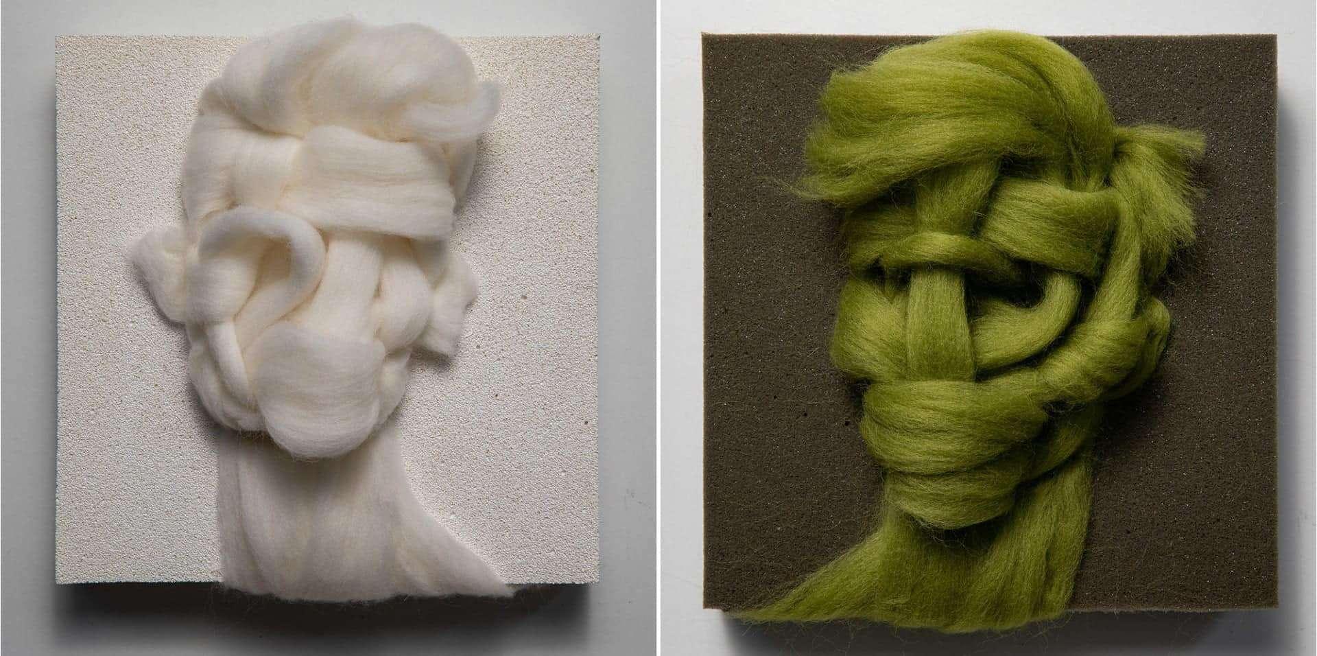 Portret van wol door Salman Khosroo