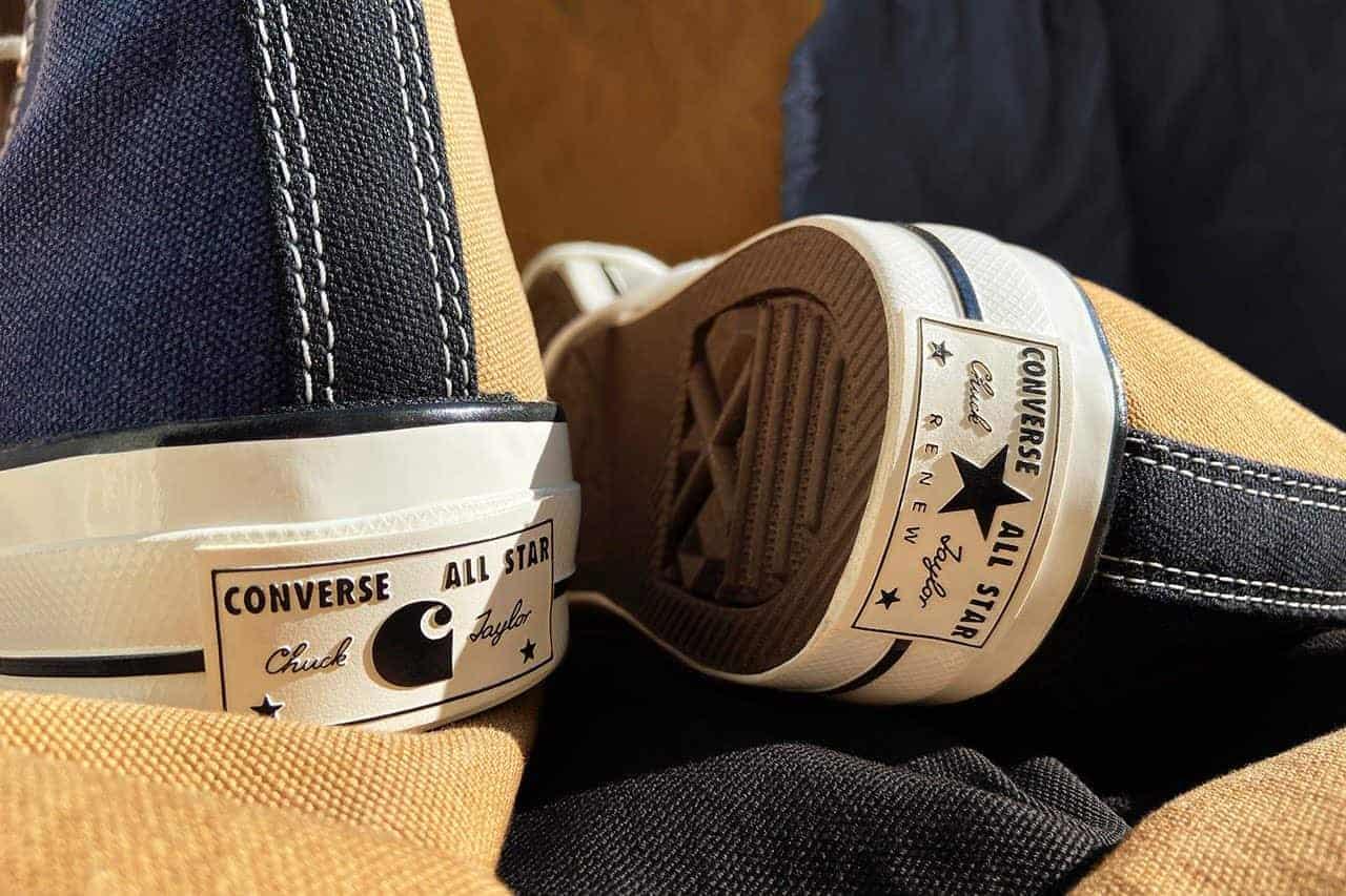 Carhartt WIP maakt All Stars van oude kleding