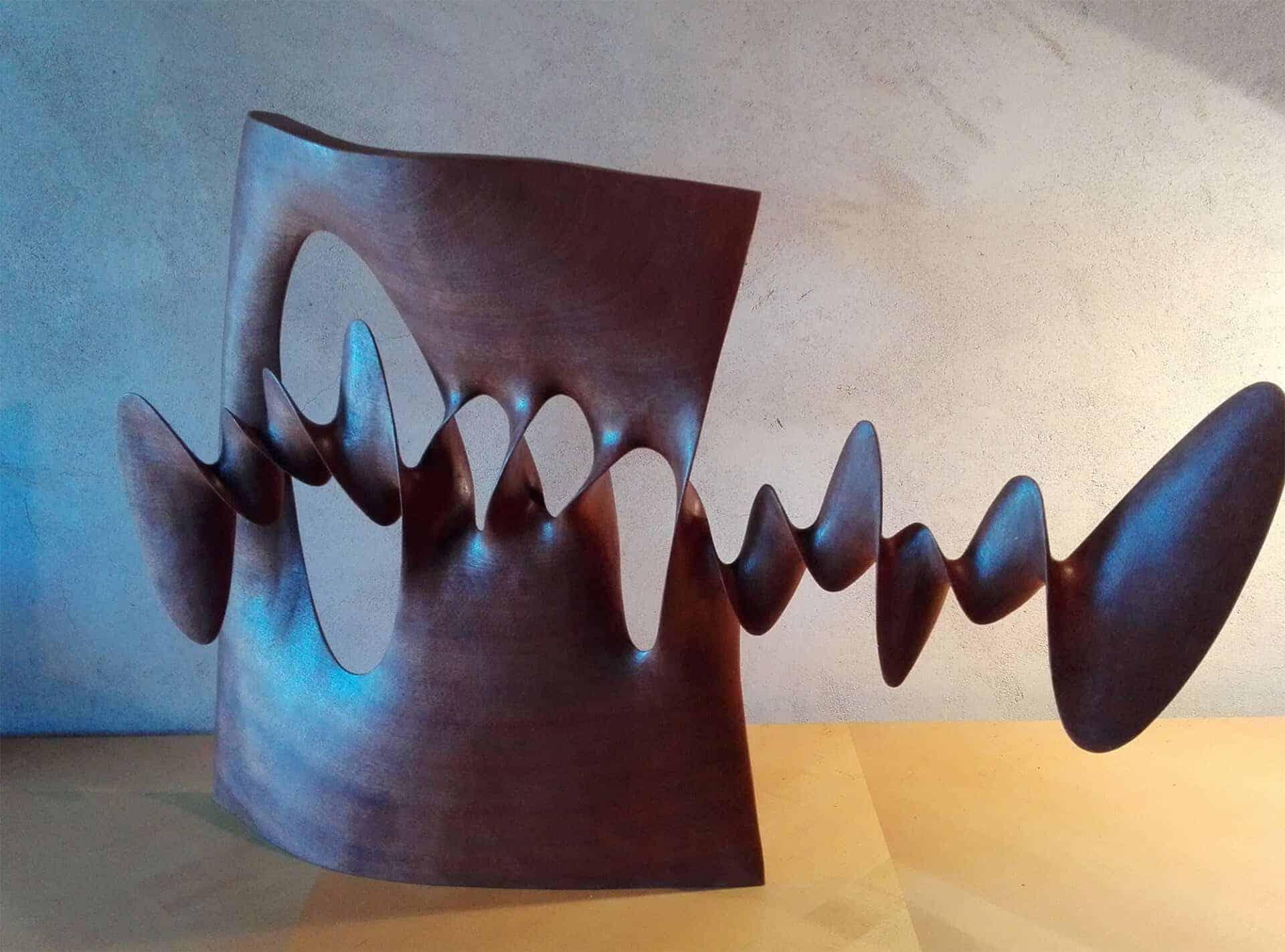 houten sculptuur Xavier Puente Vilardell