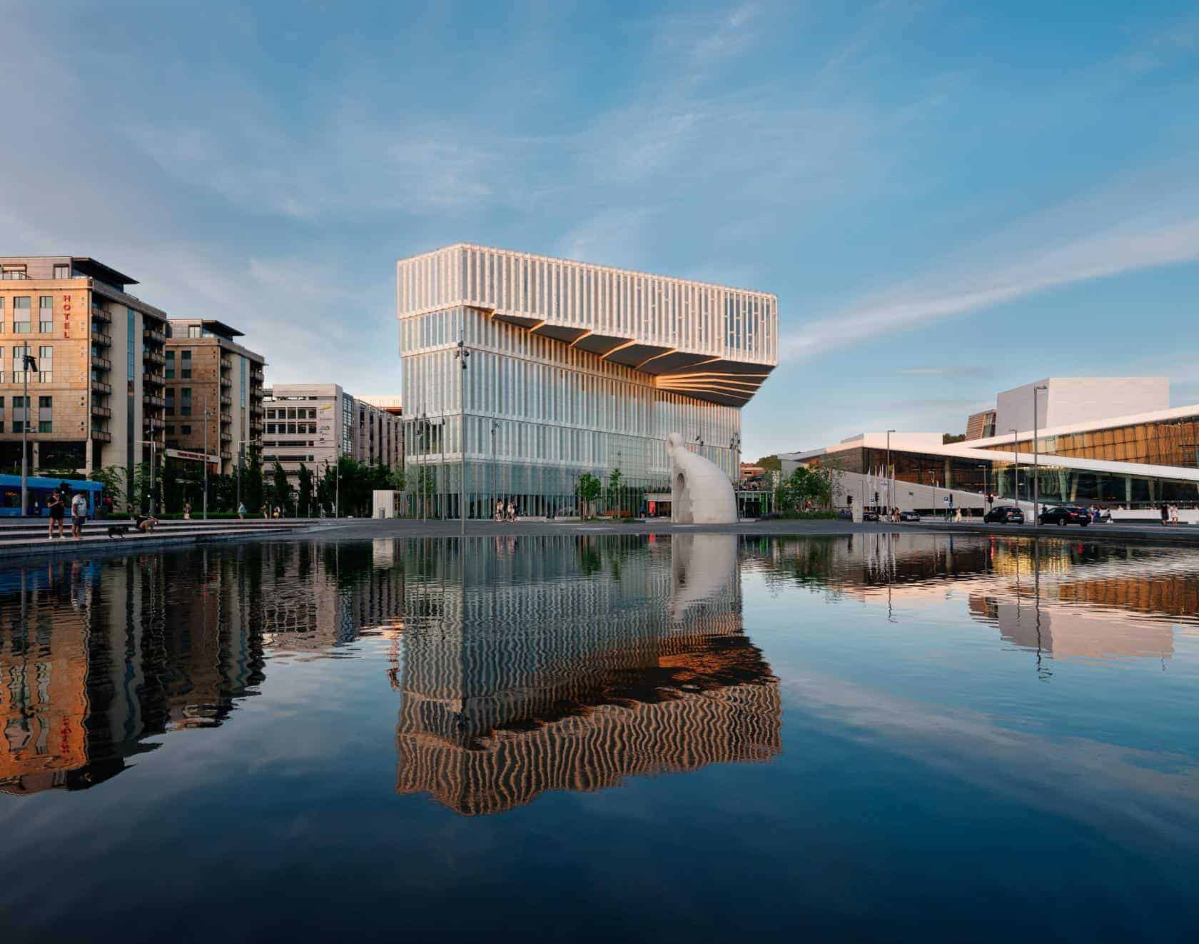 Bibliotheek van Oslo