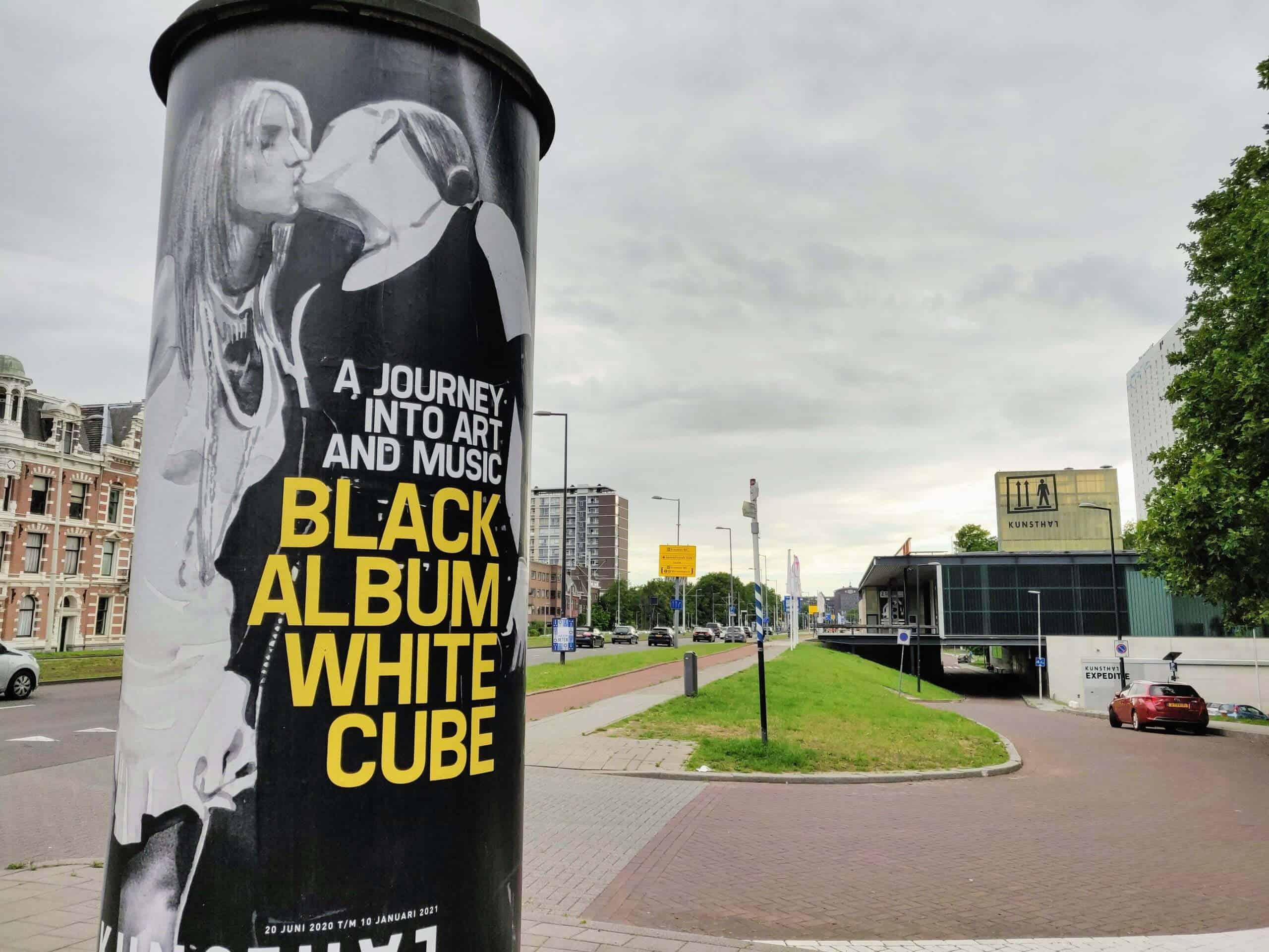 Black Album / White Cube in de Kunsthal Rotterdam