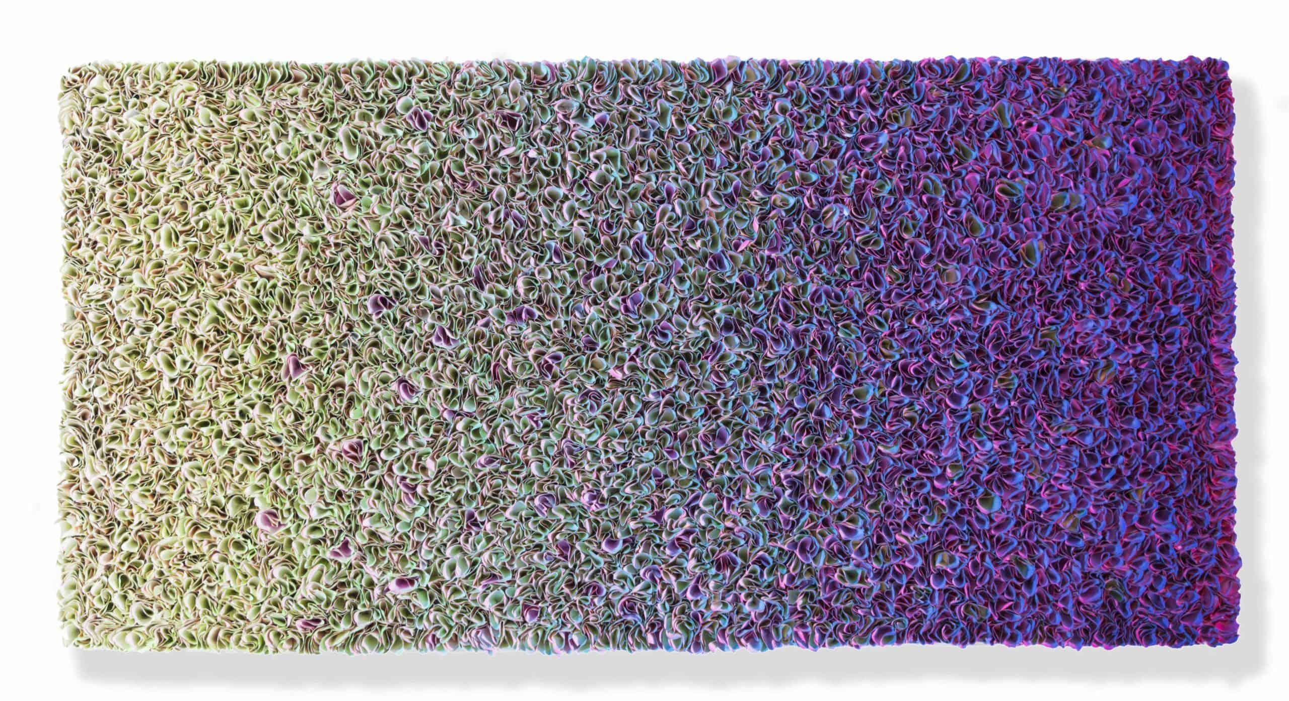 Zhuang Hong Yi - Flowerbed Colorchange (2019), 75x150cm - Courtesy SmithDavidson Gallery