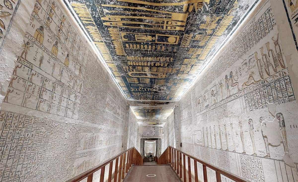 Tombe van Farao Ramses IV