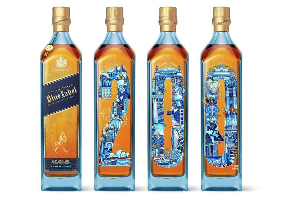 Johnnie Walker Blue Label 200th Anniversary Limited Edition Design