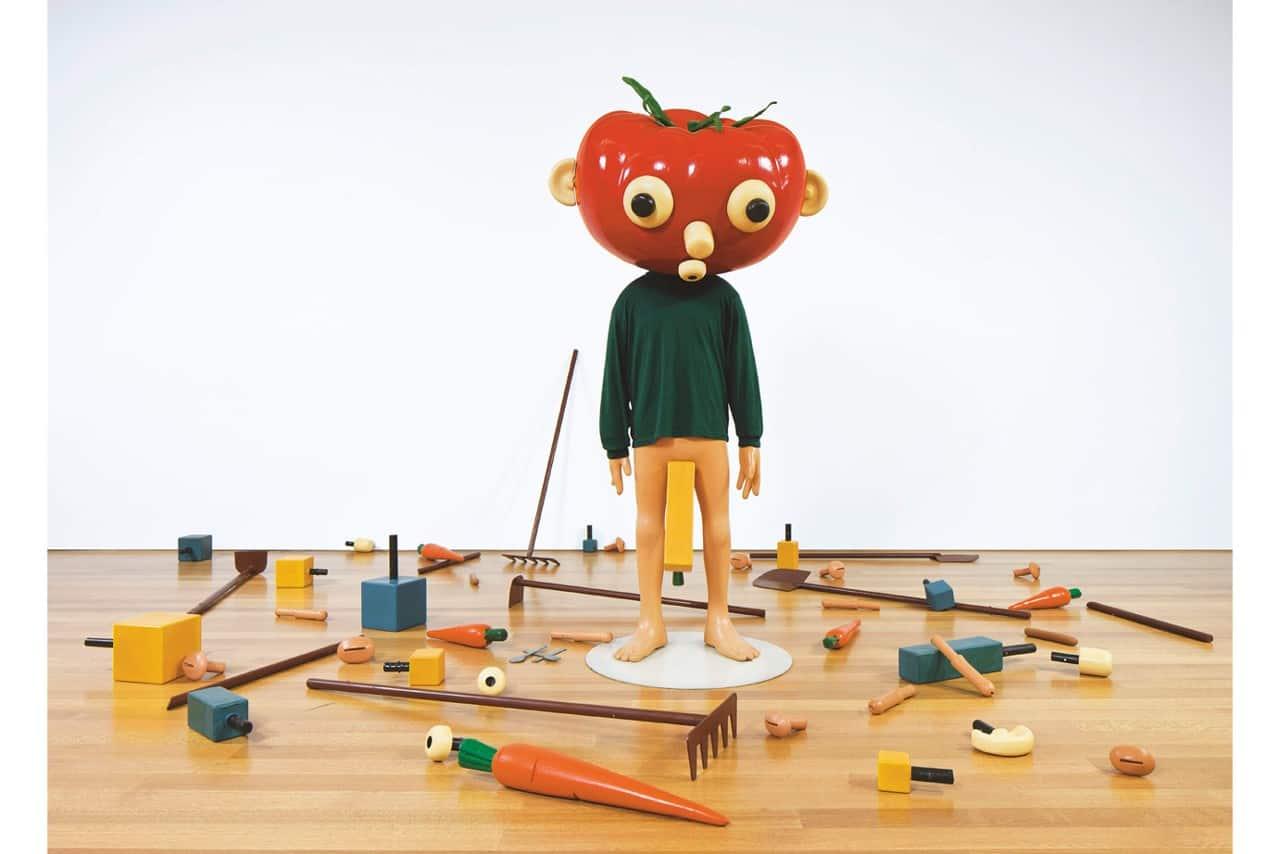 Paul Mccarthy (1945), Tomato Head (Green)