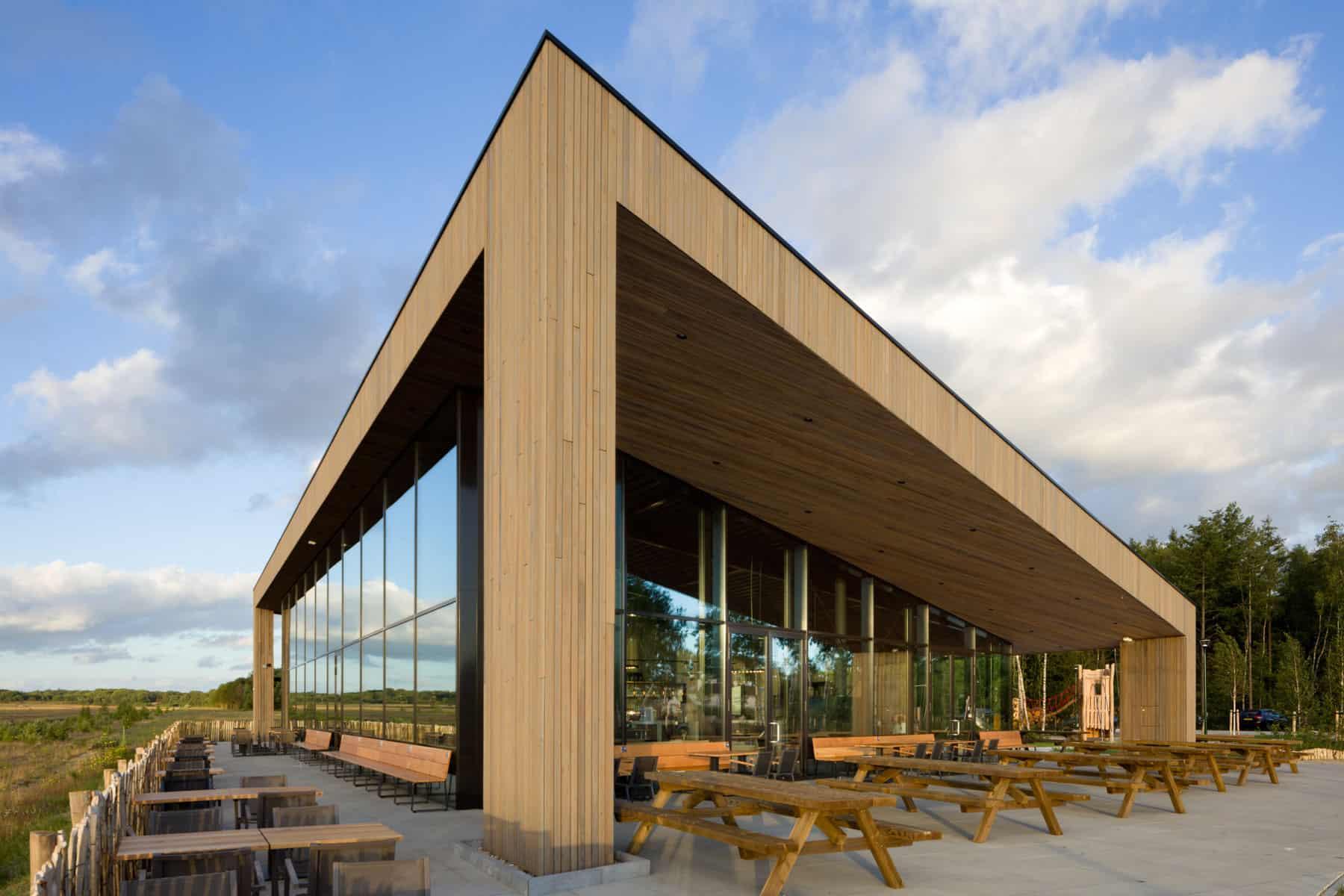 Cafe-restaurant Soesterdal door VOCUS architecten