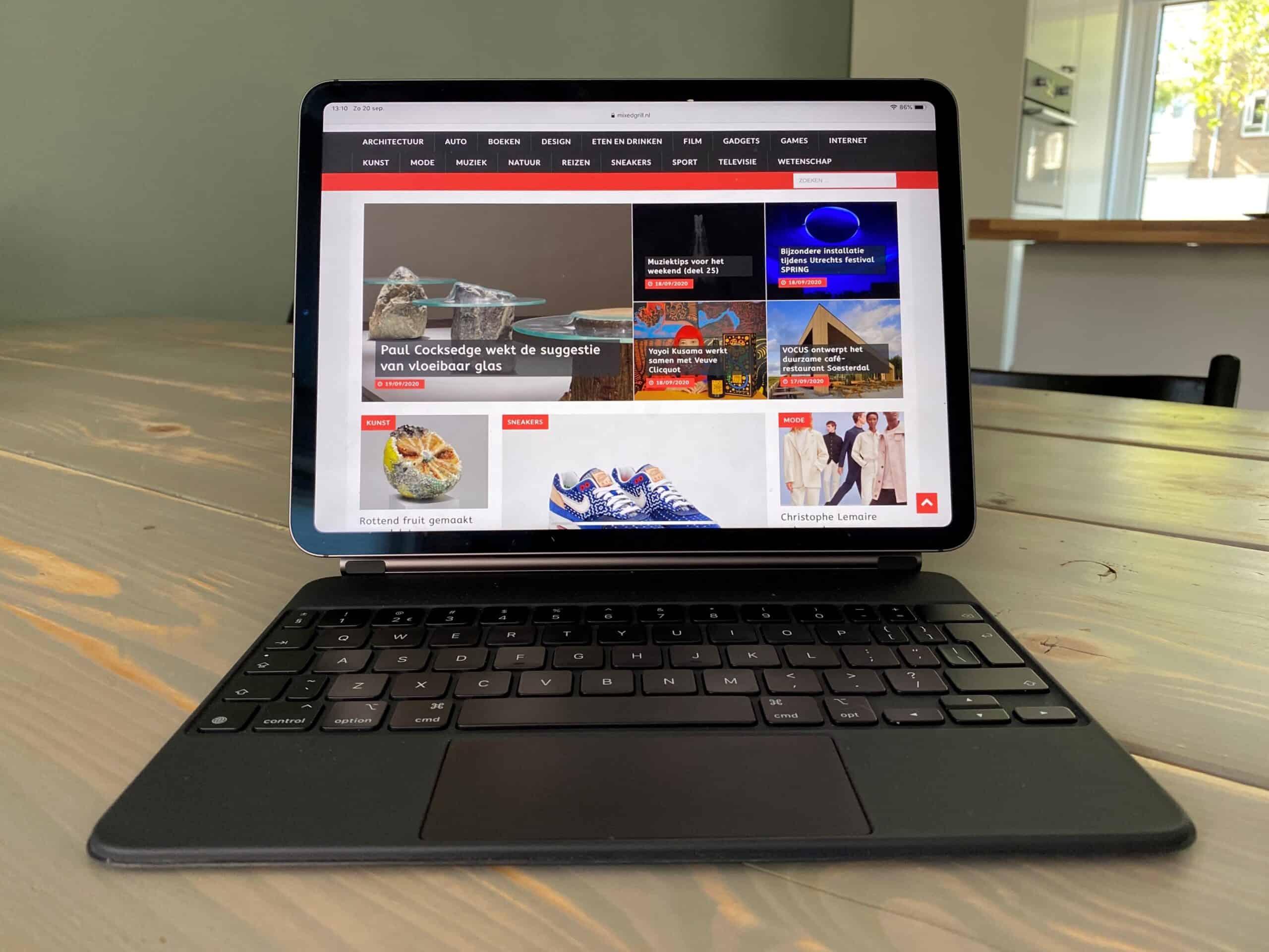 iPad Pro en vernieuwde Magic Keyboard