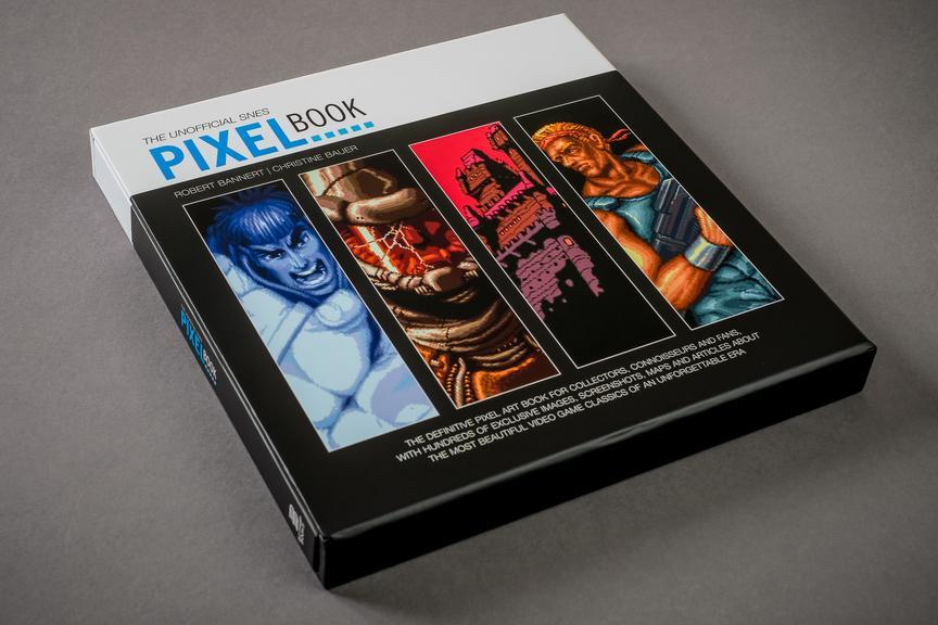 Een reis door de tijd met The Unofficial SNES Pixel Book