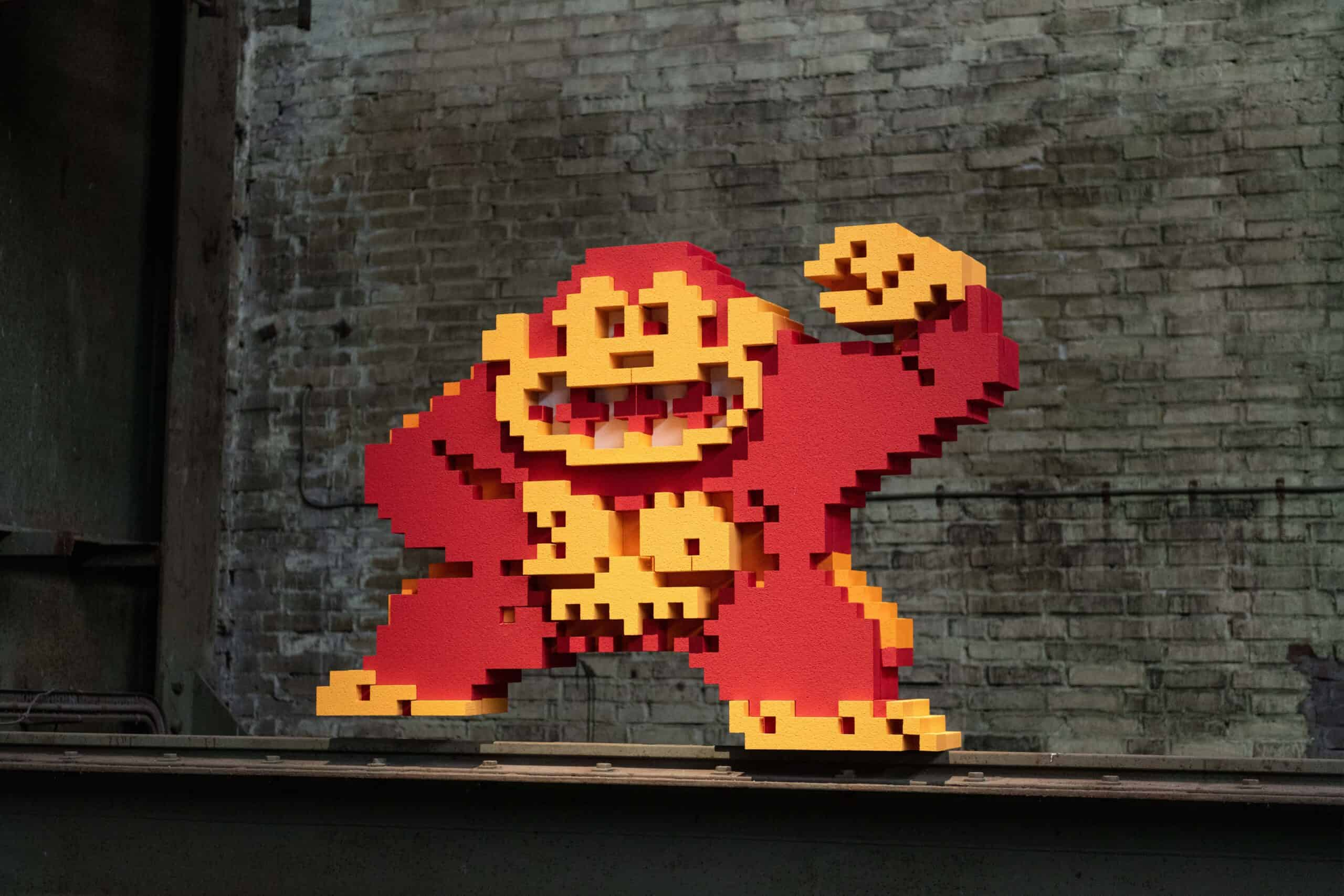 Frankey- Donkey Kong in STRAAT