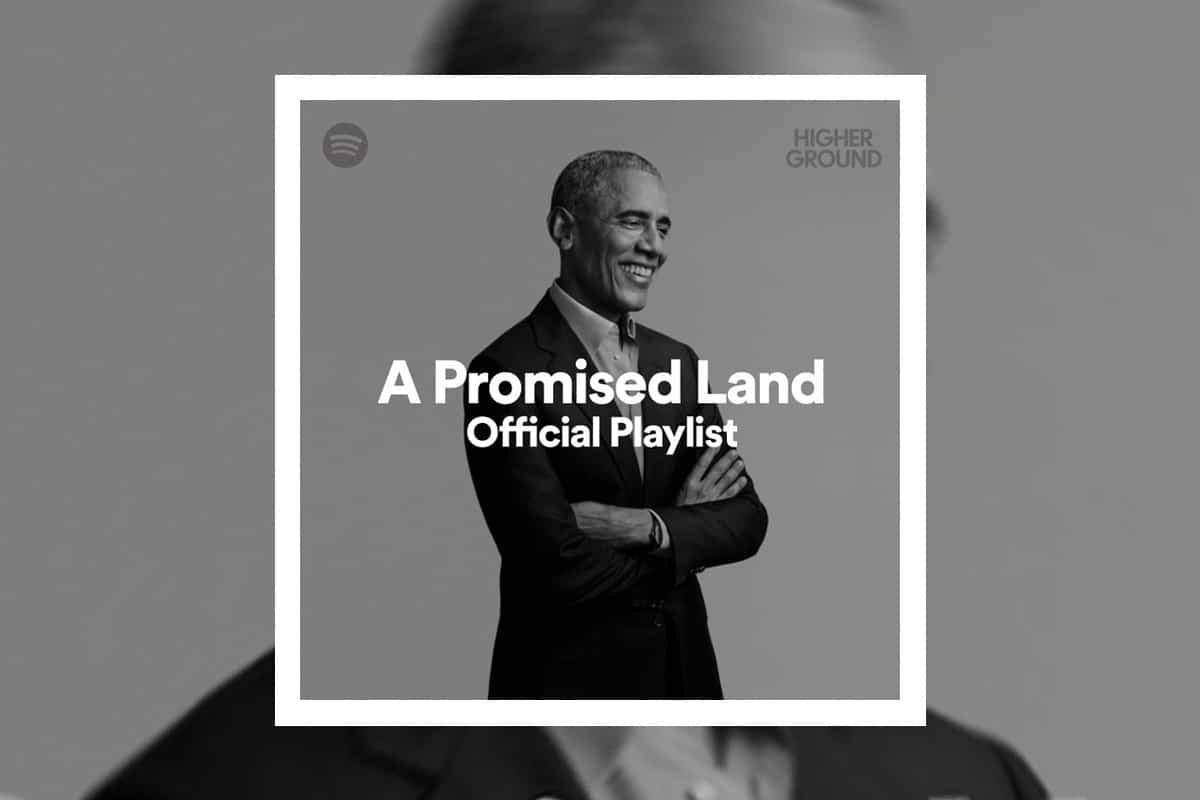 Playlist van Obama