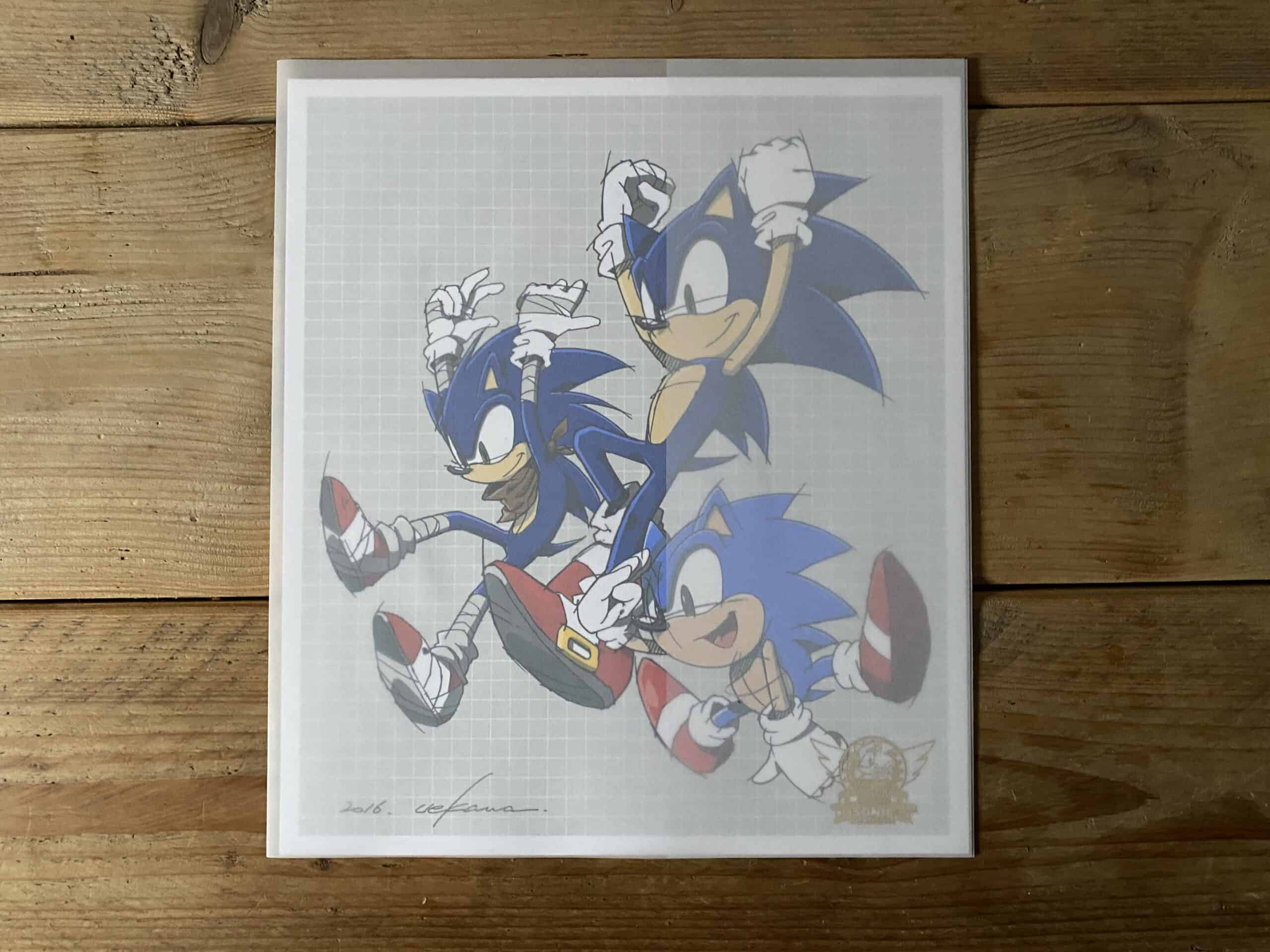 Sonic The Hedgehog 25th Anniversary Art Book