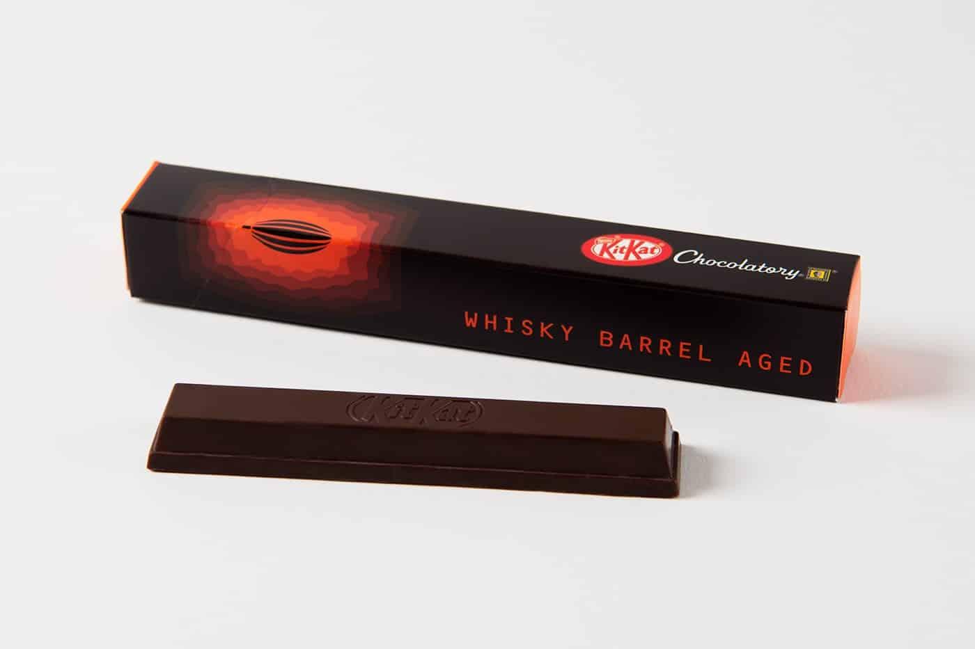 KitKat whisky barrel aged