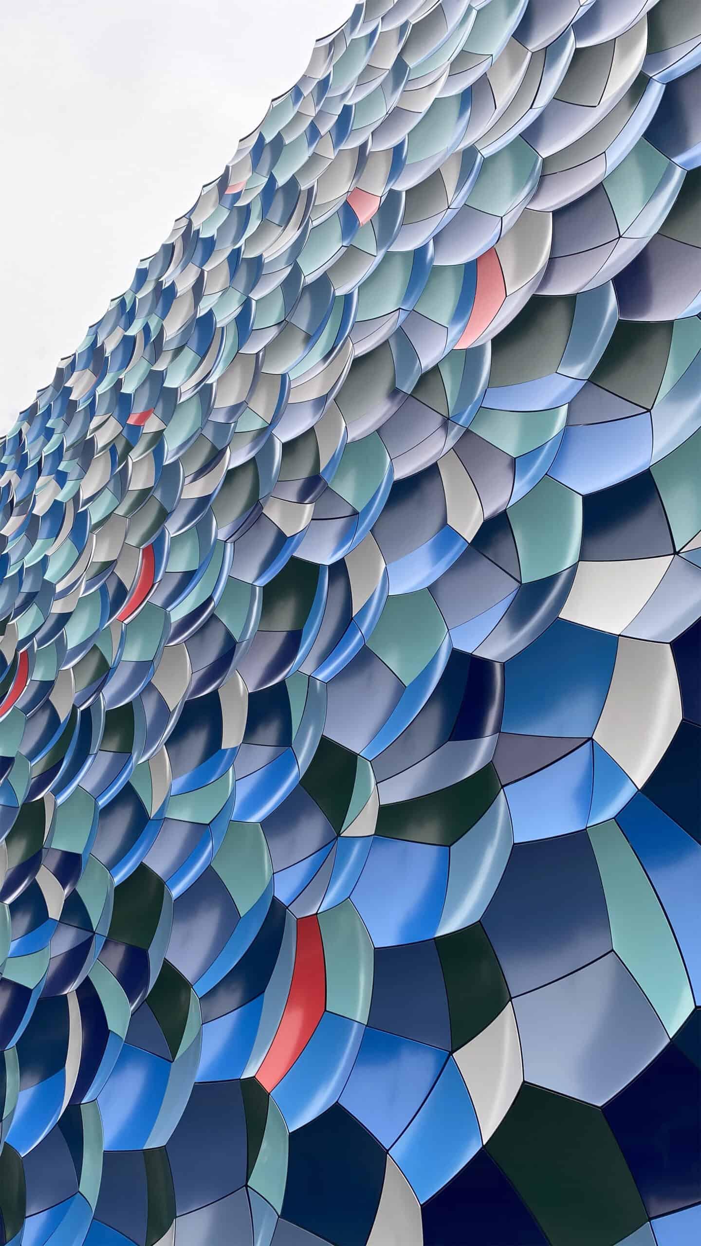Olafur Elliason - Atmospheric wave wall