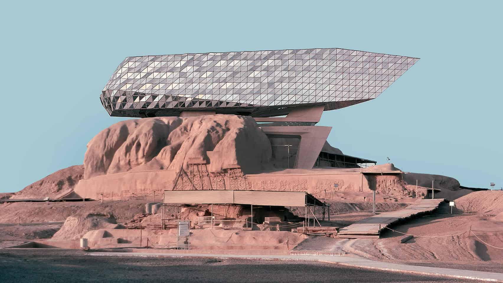 Expanding Iranian Ancient Architecture