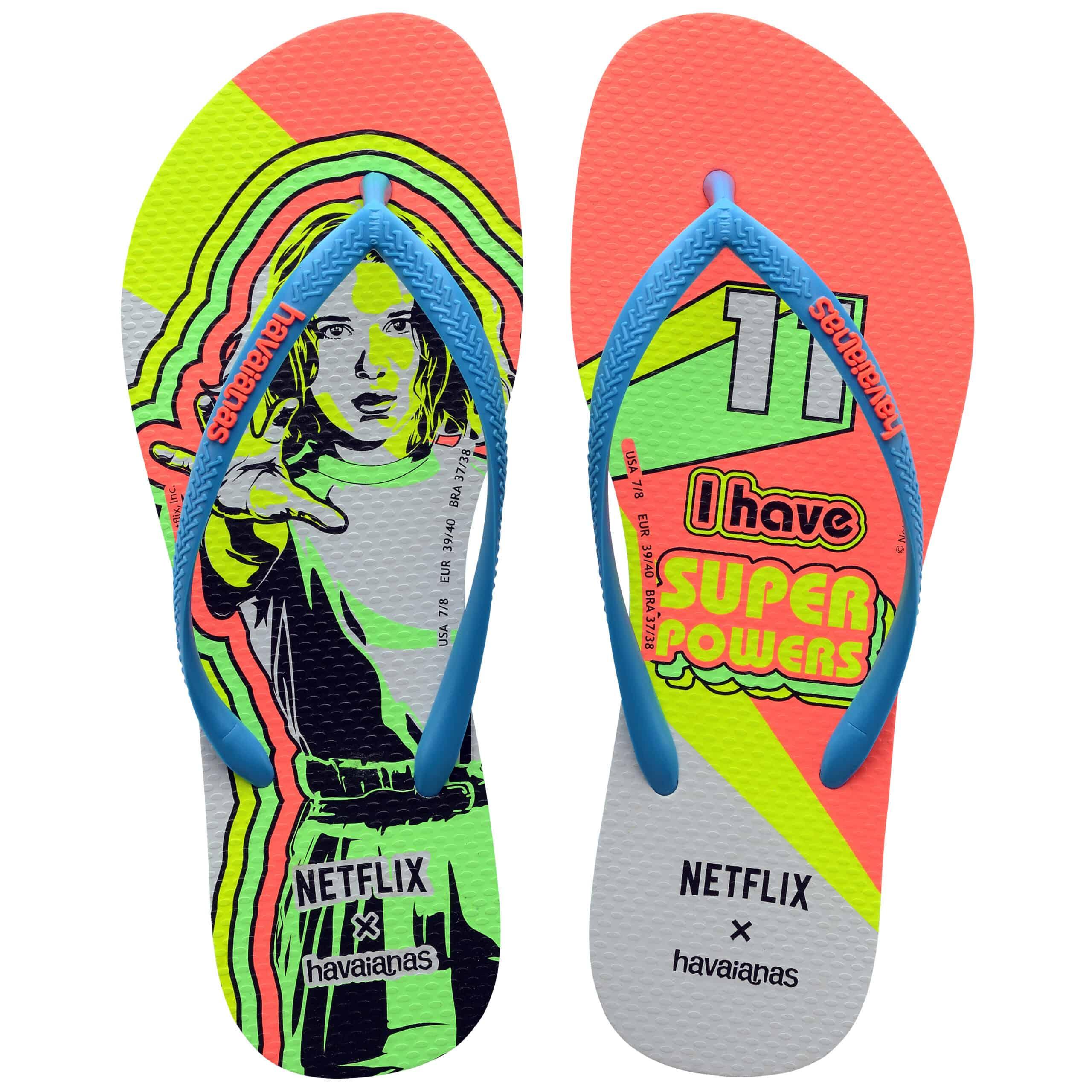 Havaianas x Netflix