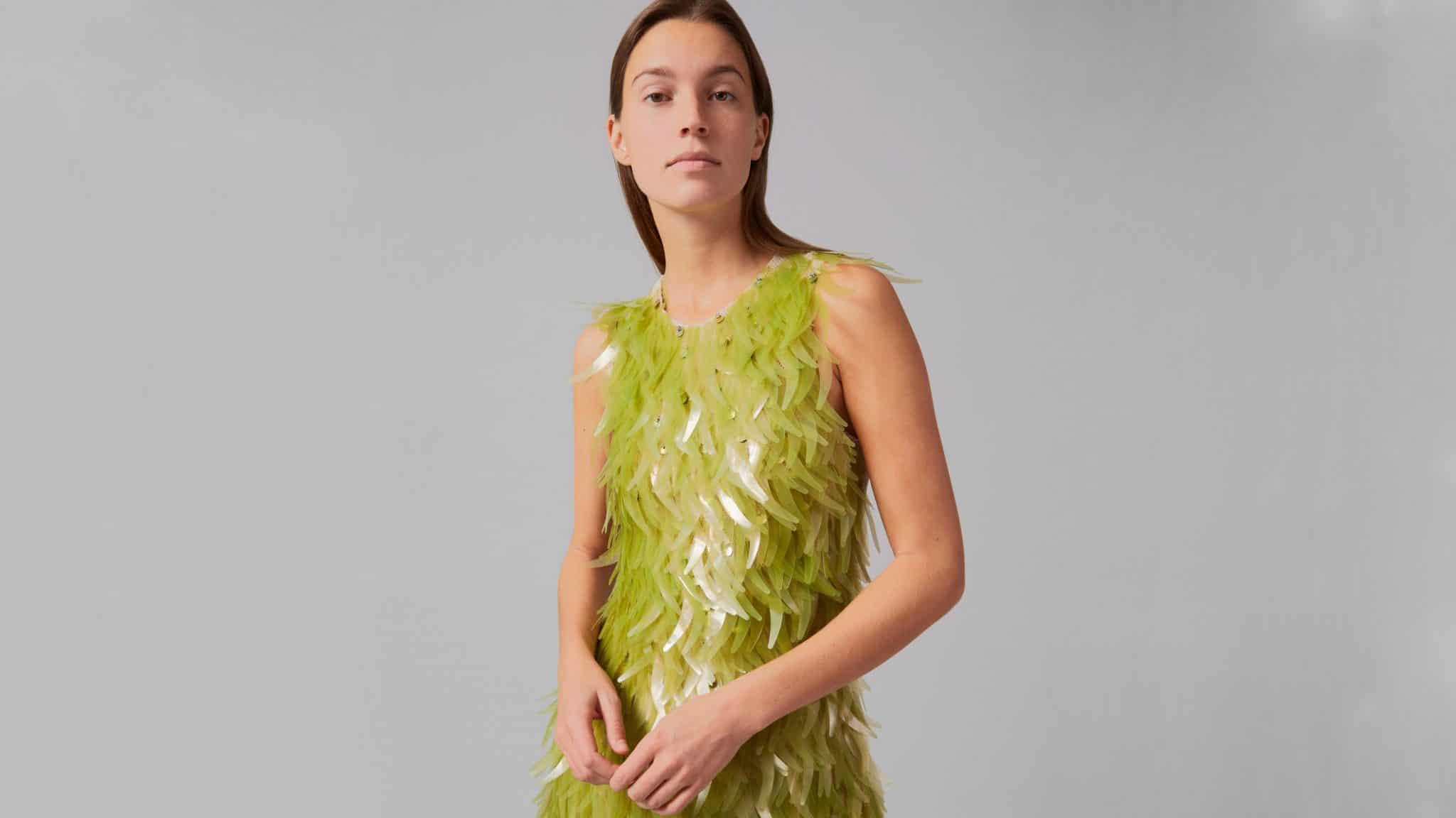 Phillip Lim en Charlotte McCurdy maken jurk van algen
