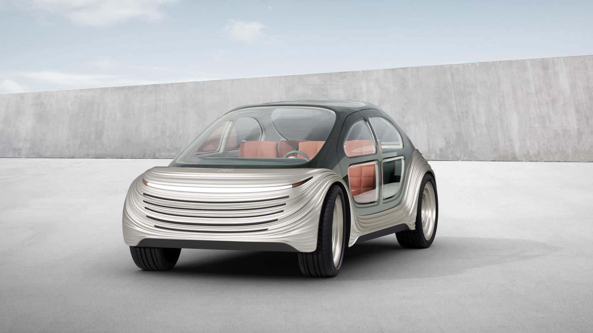 Heatherwick Studio ontwerpt auto die de lucht zuivert