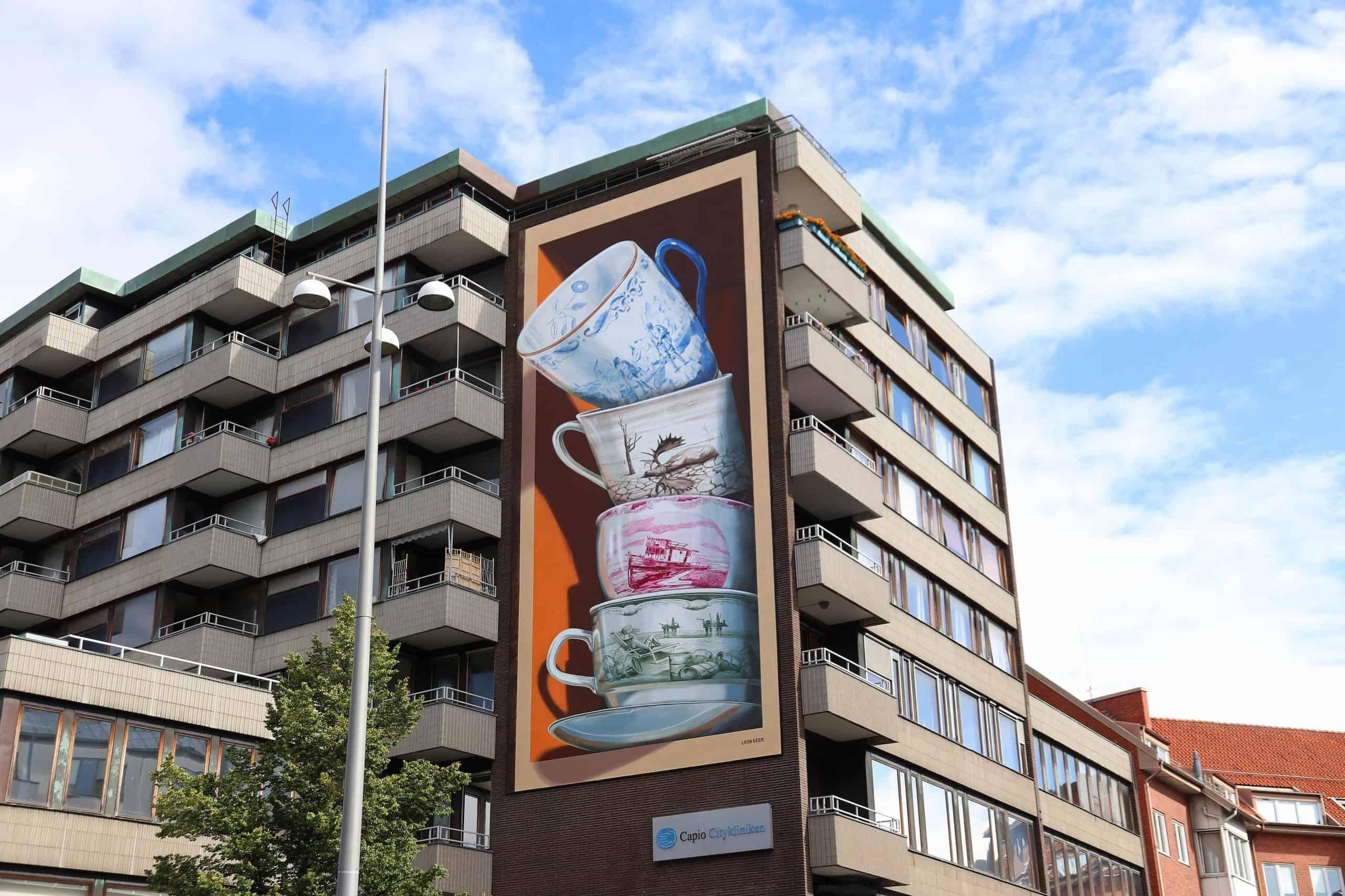 Leon Keer - Shattering, 2020 - Helsingborg (Sweden)
