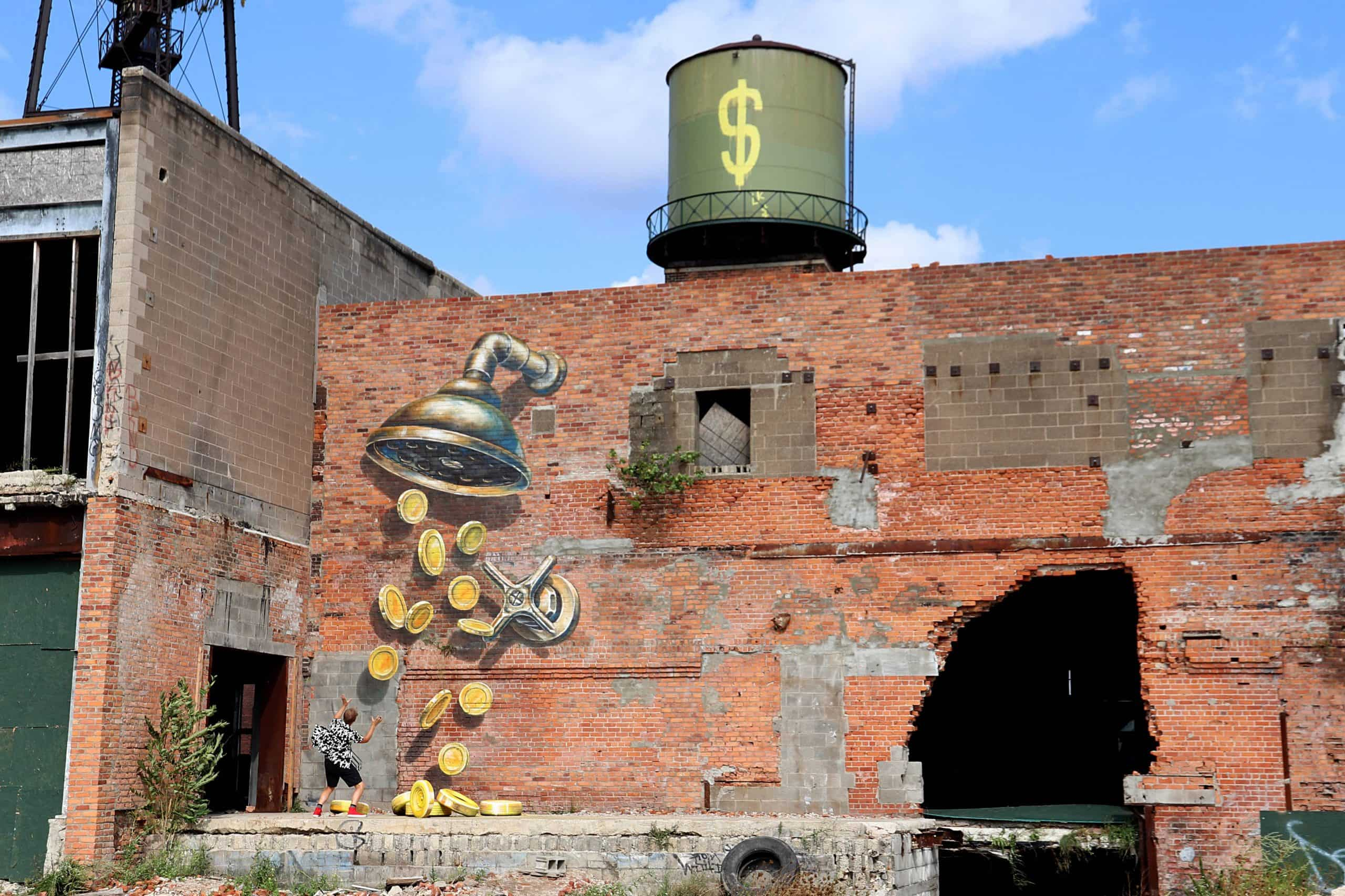 Leon Keer - Urban Colonization, 2018 - Detroit (USA)