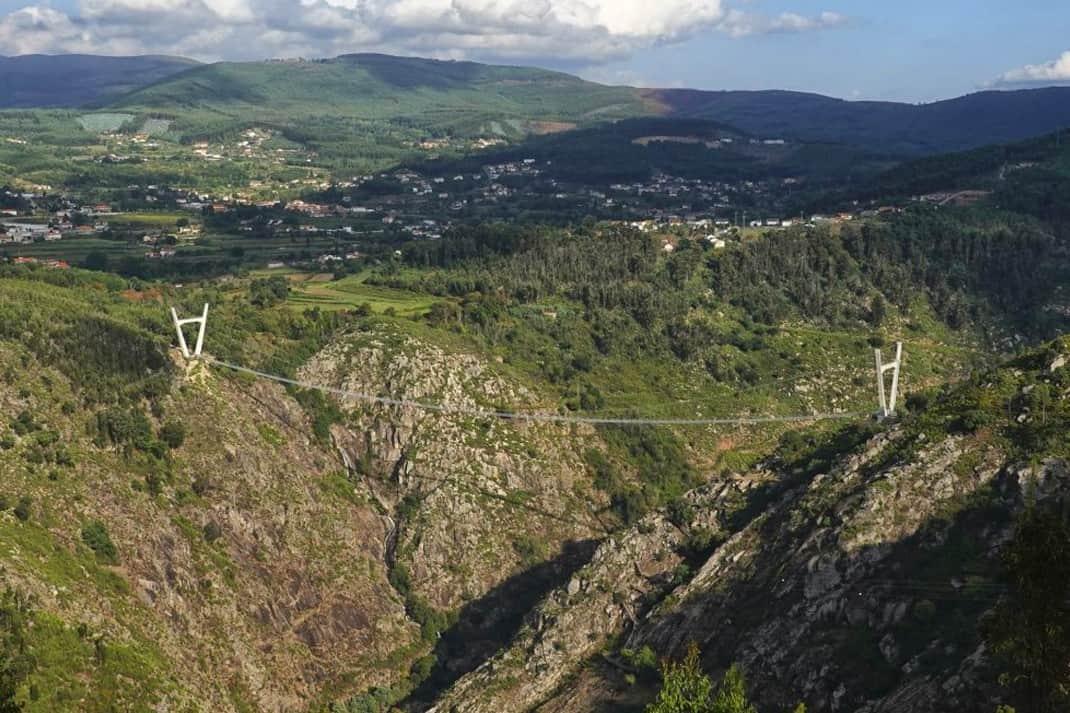 516 Arouca hangbrug in Portugal