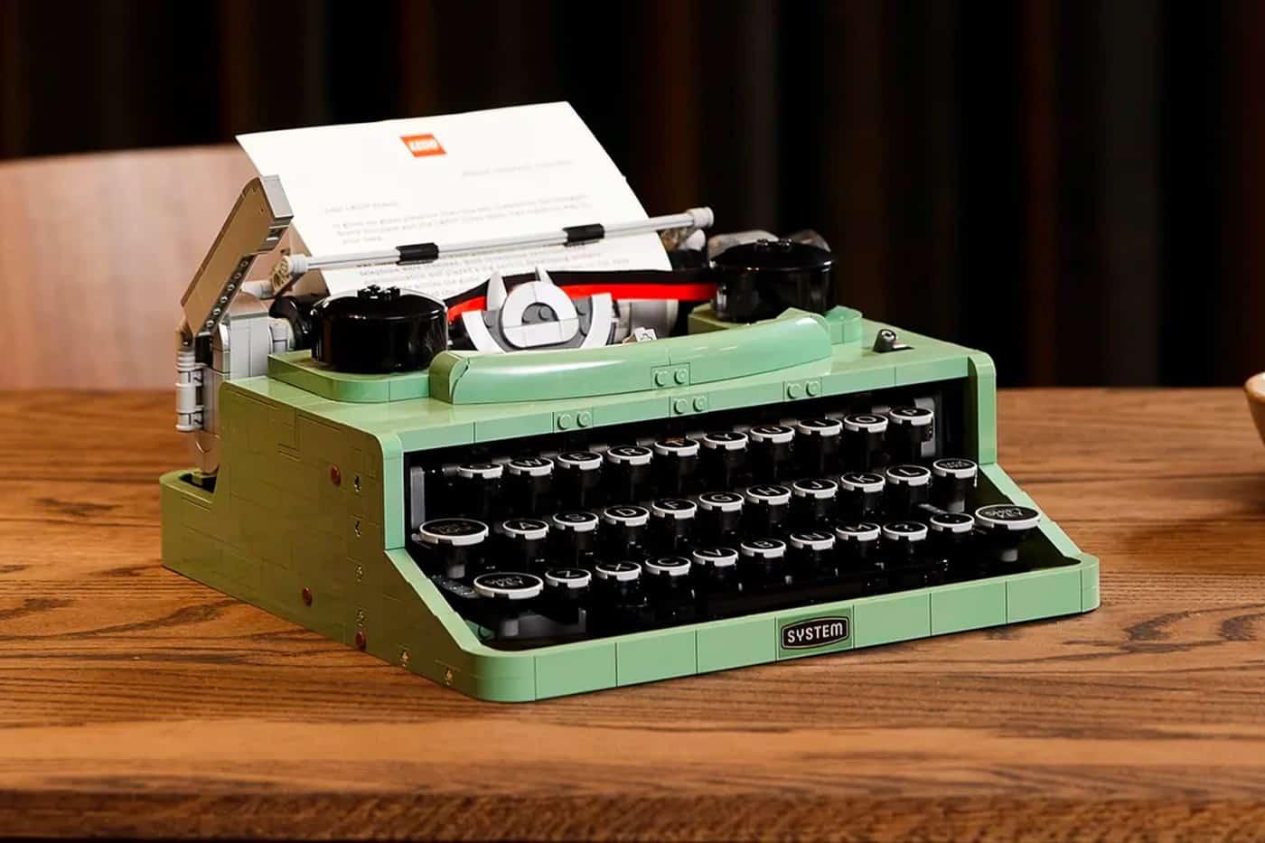 Typemachine van LEGO Ideas