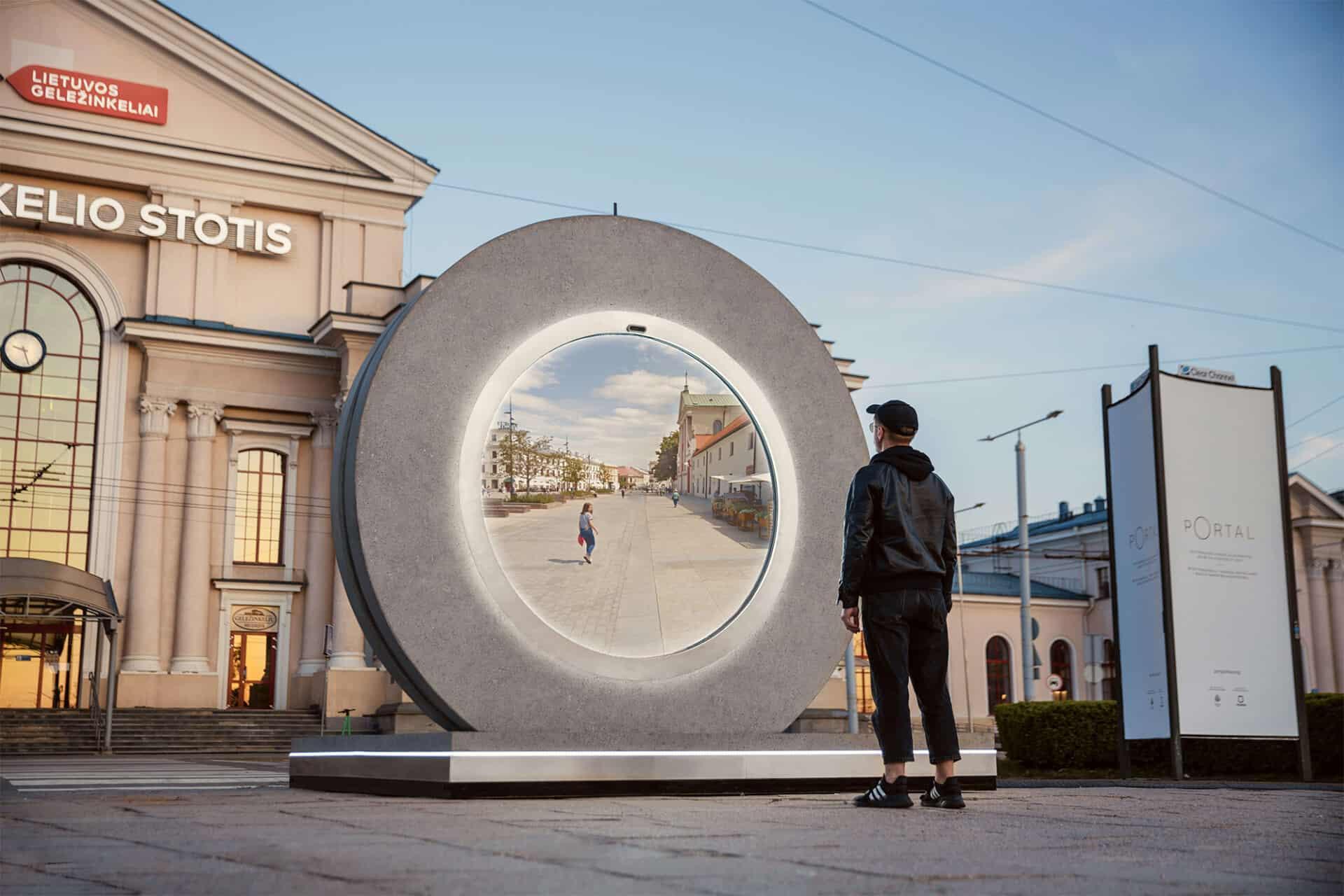 Virtueel portaal tussen Vilnius en Lublin