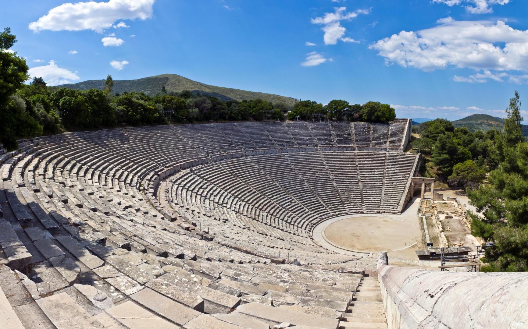 Theater van Epidaurus