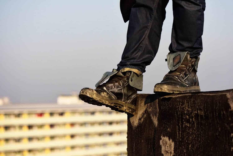 Akwasi laat zijn Amsterdam zien in de Palladium Boots Explorer Series