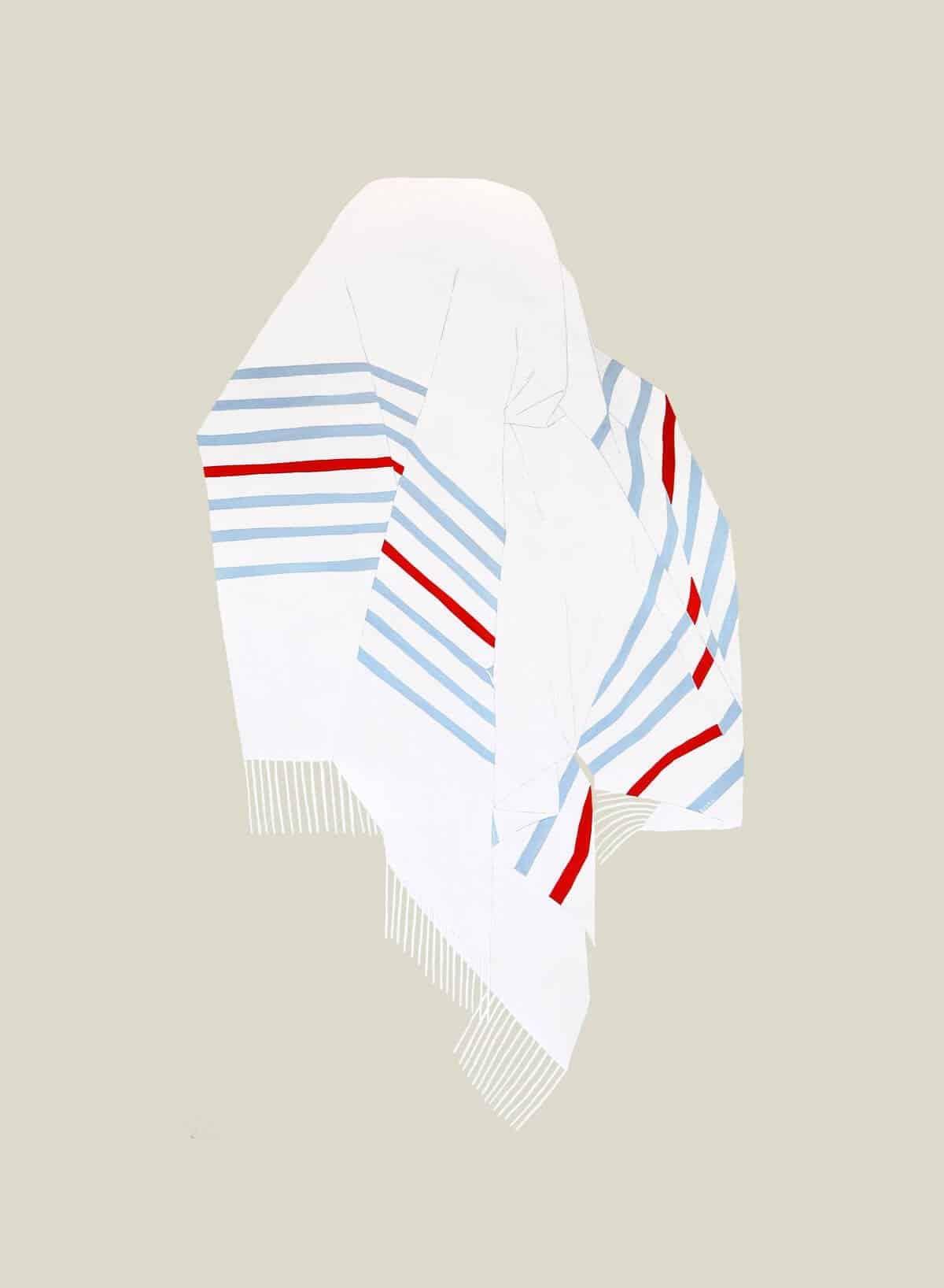 schilderij van een deken