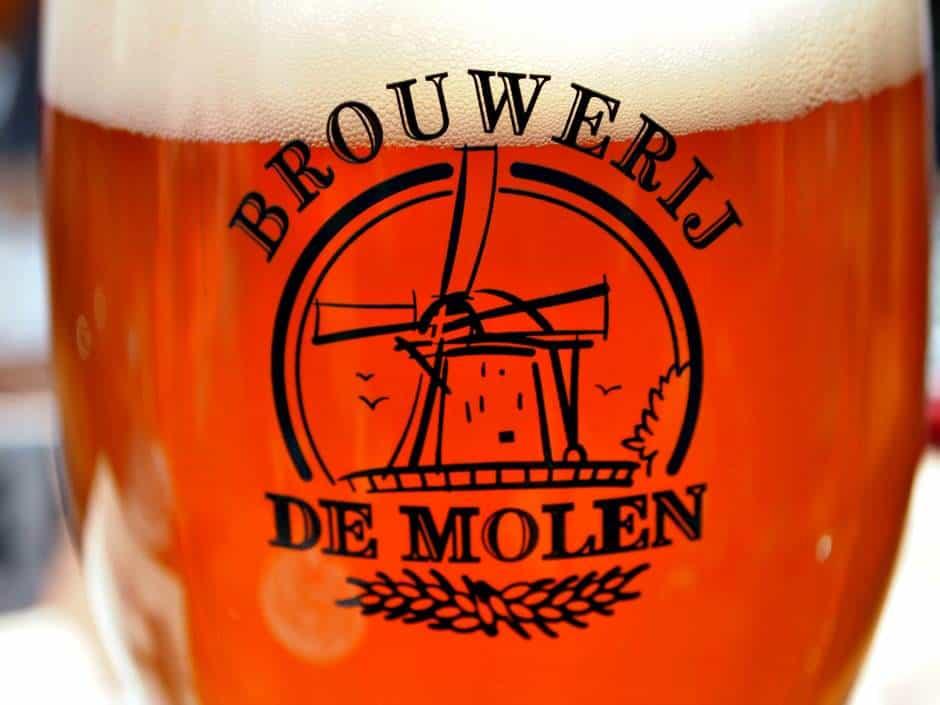 glas bier van De Molen