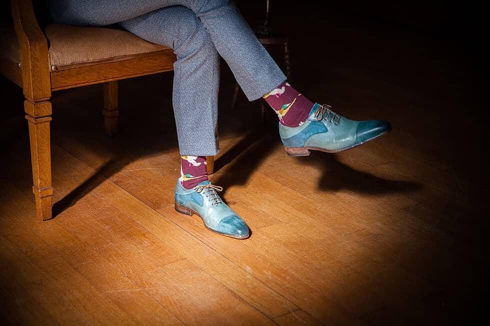 sokken met eenden