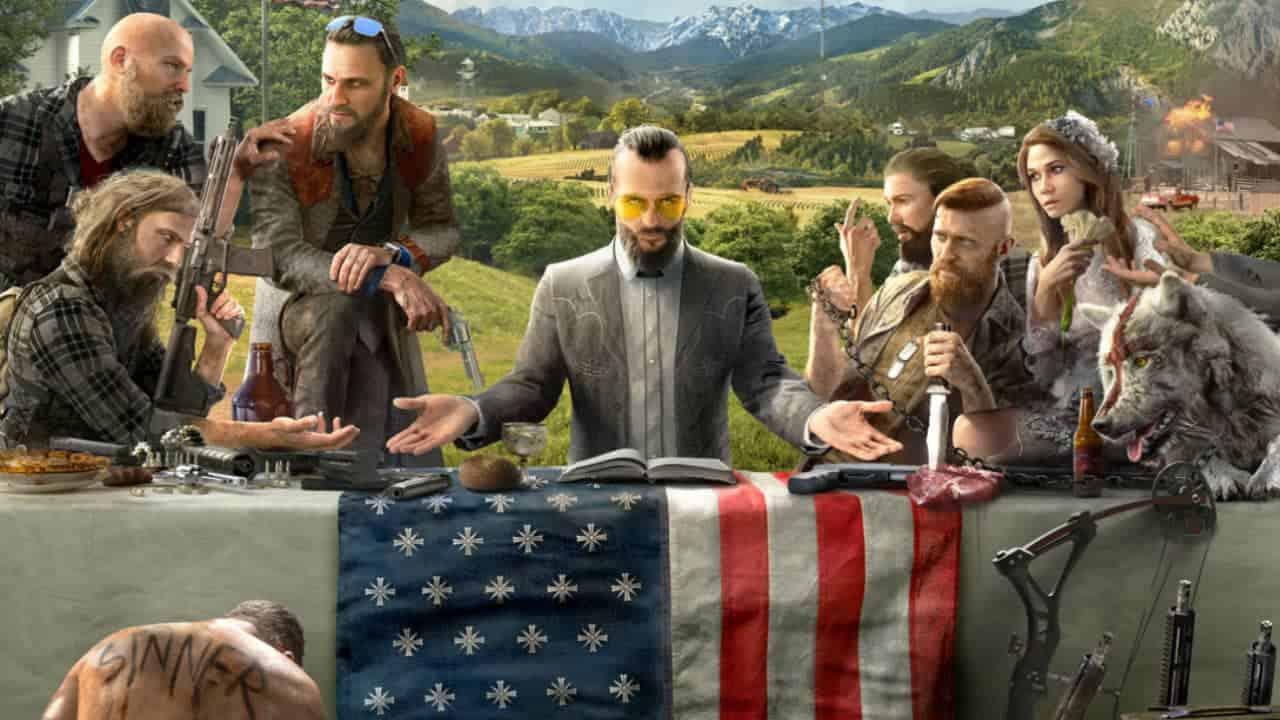 gekke types in de nieuwe Far Cry