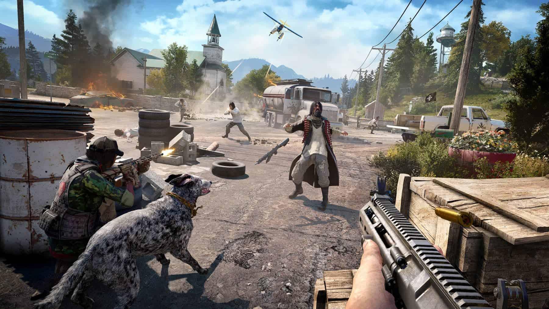 lekker knallen in Far Cry 5