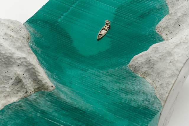 glazen golven van Ben Young