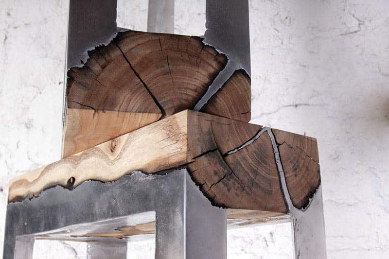 hout en aluminium